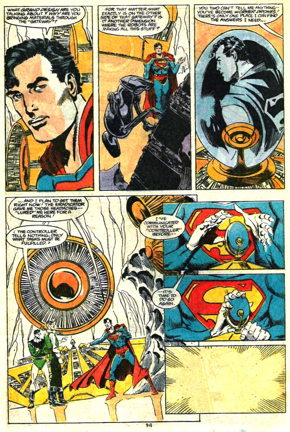 Read online Adventures of Superman (1987) comic -  Issue #460 - 15