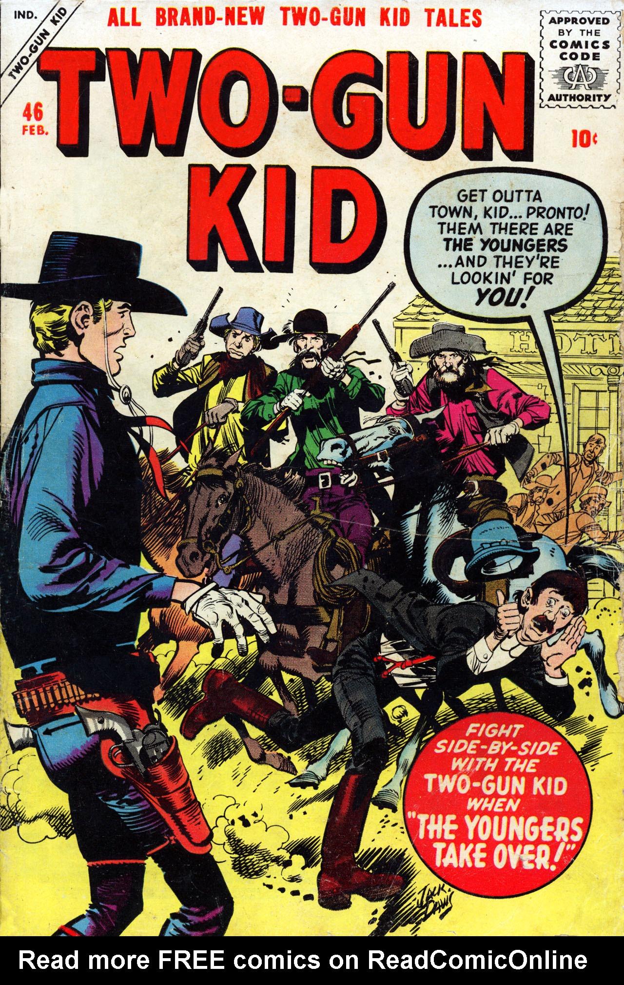 Read online Two-Gun Kid comic -  Issue #46 - 1