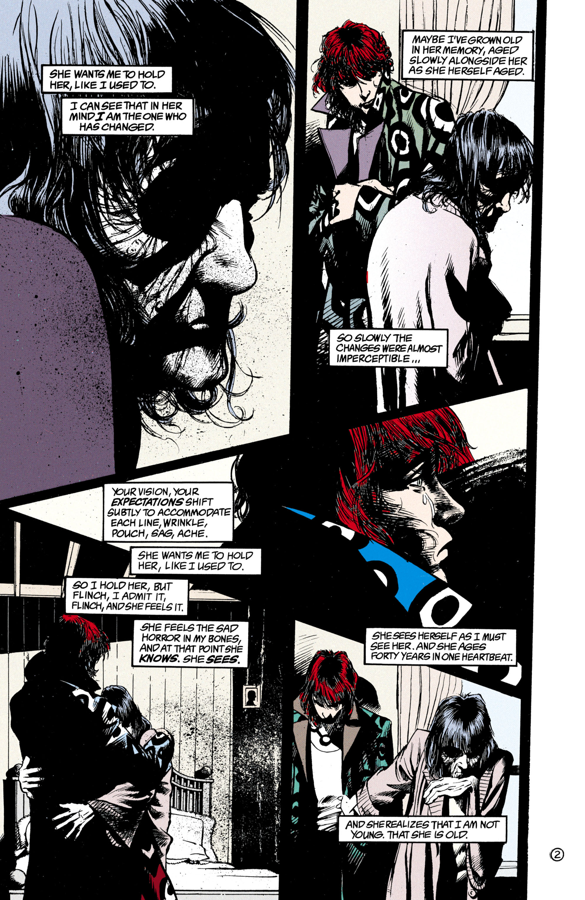 Read online Shade, the Changing Man comic -  Issue #23 - 3