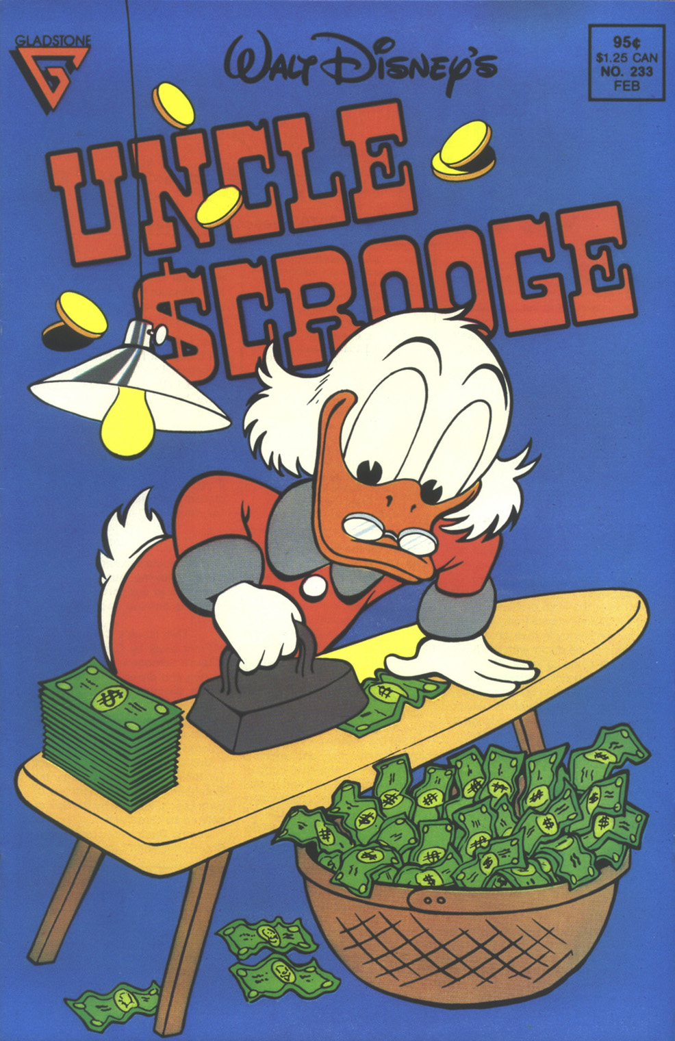 Read online Uncle Scrooge (1953) comic -  Issue #233 - 1