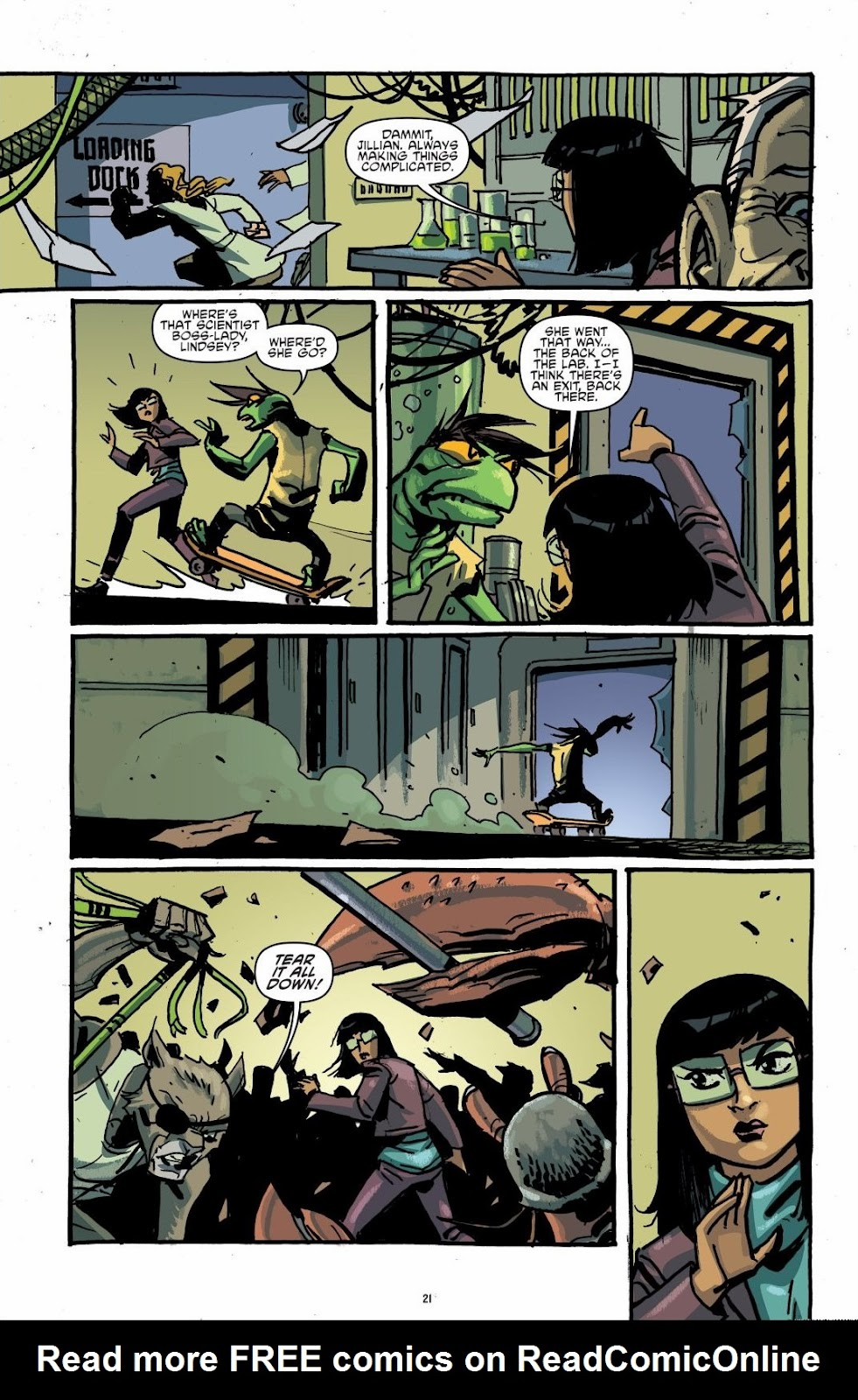Read online Teenage Mutant Ninja Turtles: The IDW Collection comic -  Issue # TPB 6 (Part 1) - 20