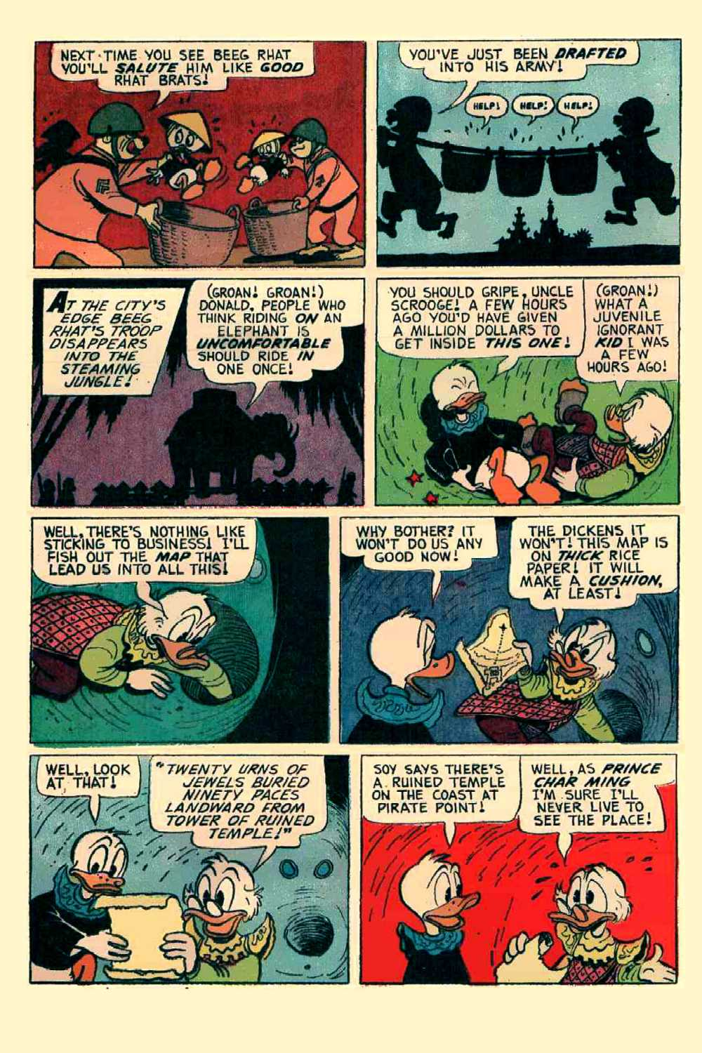 Read online Uncle Scrooge (1953) comic -  Issue #64 - 19