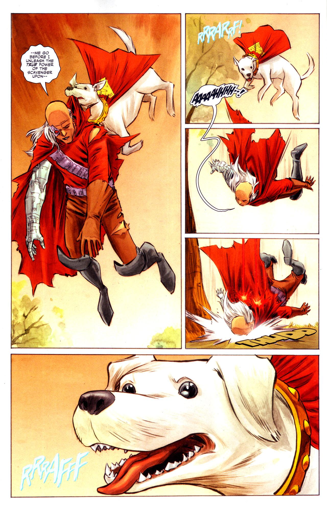 Read online Adventure Comics (2009) comic -  Issue #3 - 5