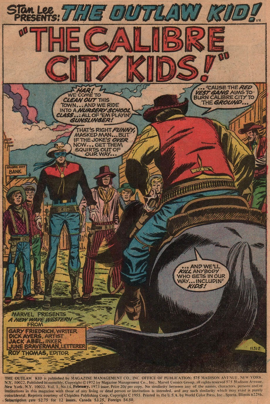 The Outlaw Kid (1970) issue 14 - Page 3