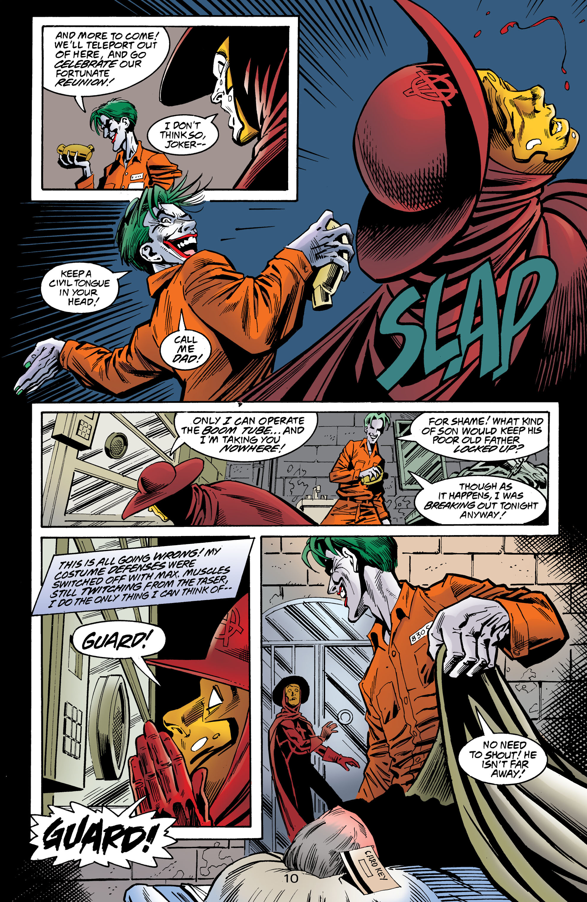 Read online Anarky (1999) comic -  Issue #8 - 11