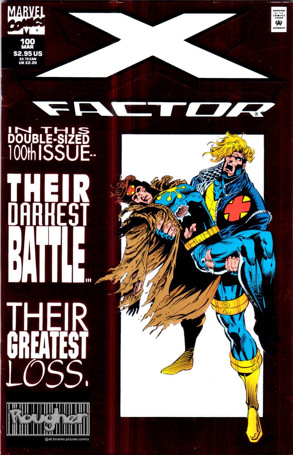 Read online X-Factor (1986) comic -  Issue #100 - 1