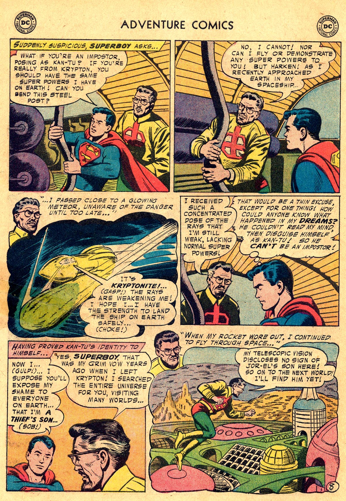 Read online Adventure Comics (1938) comic -  Issue #238 - 10