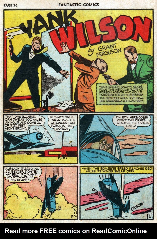 Read online Fantastic Comics comic -  Issue #17 - 28
