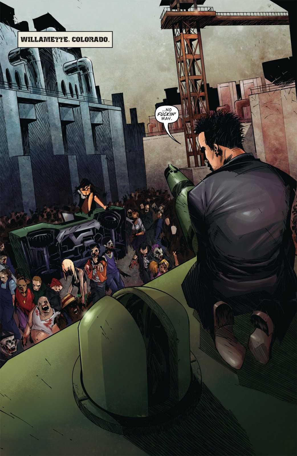 Read online Dead Rising: Road to Fortune comic -  Issue #1 - 5