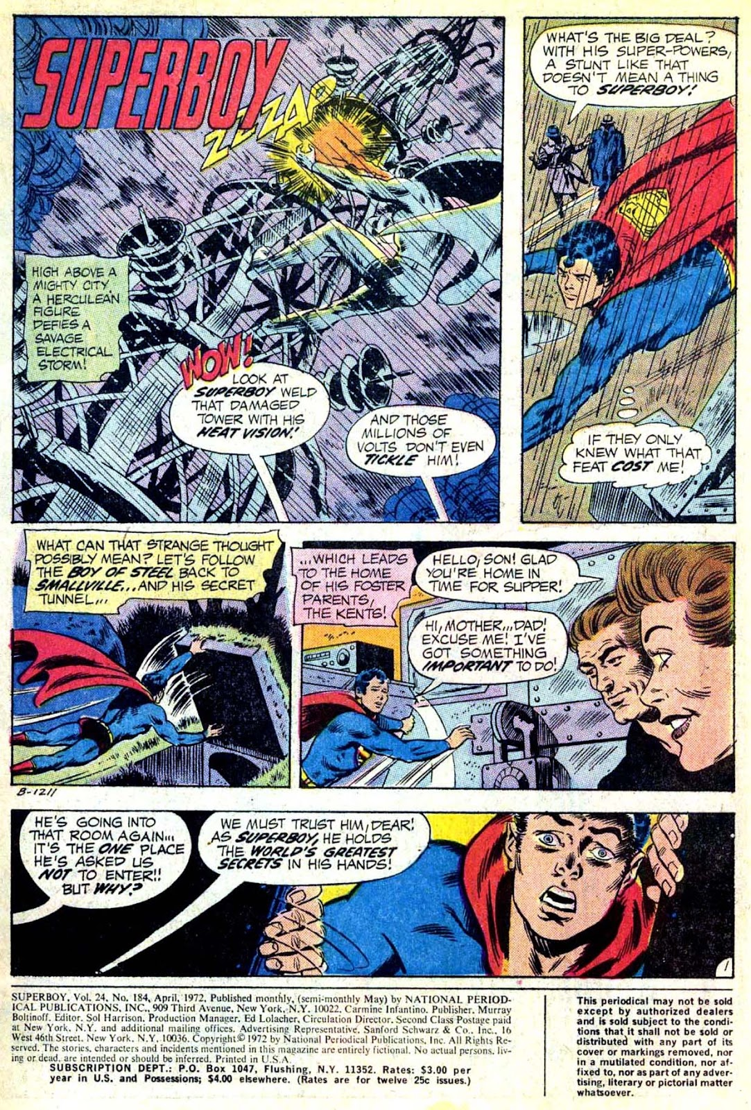 Superboy (1949) issue 184 - Page 2