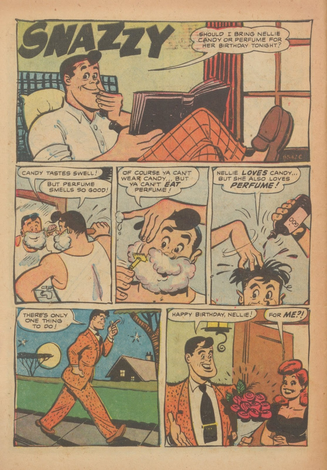 Read online Nellie The Nurse (1945) comic -  Issue #33 - 30