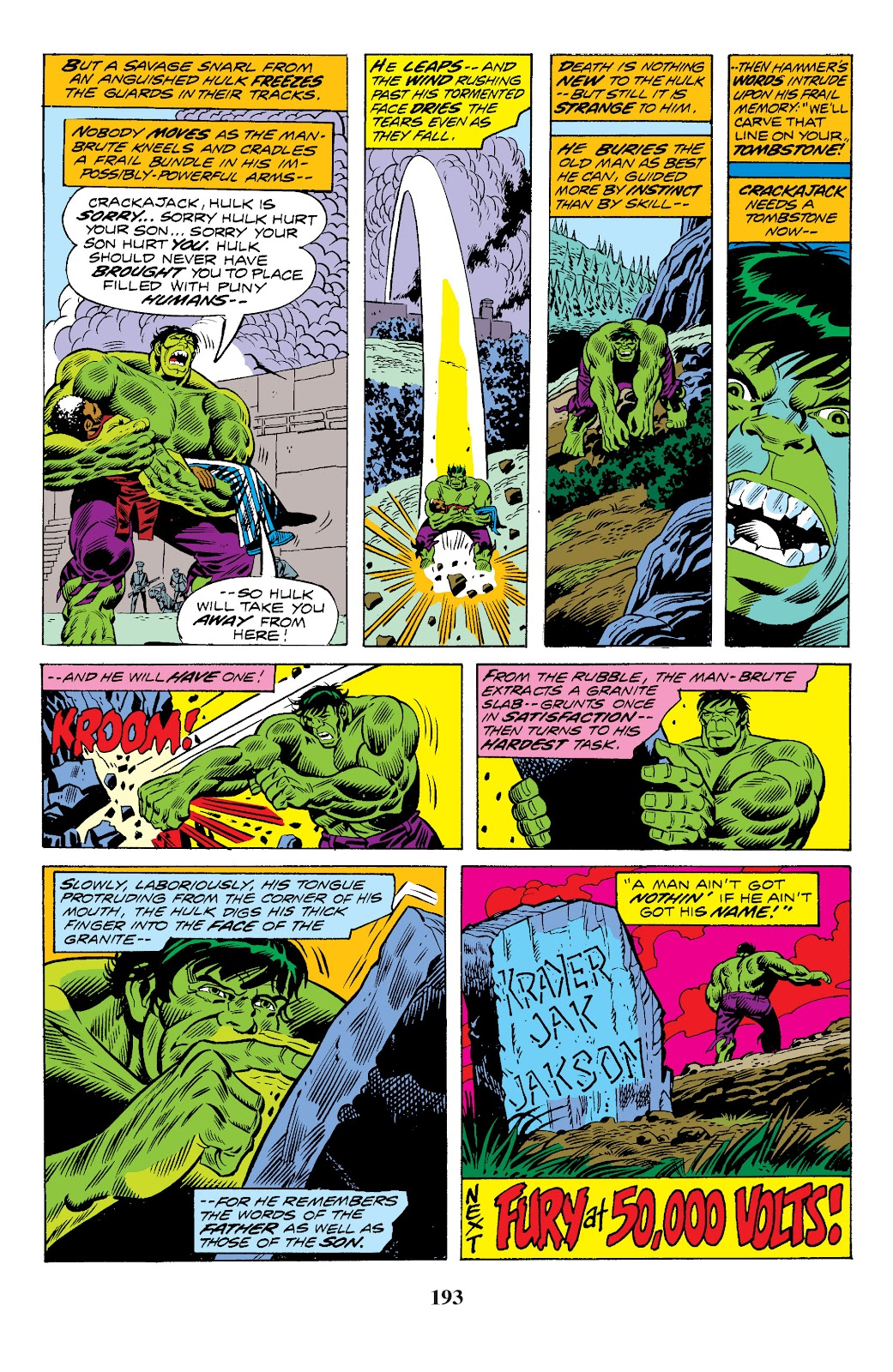 Read online Marvel Masterworks: The Incredible Hulk comic -  Issue # TPB 10 (Part 3) - 40