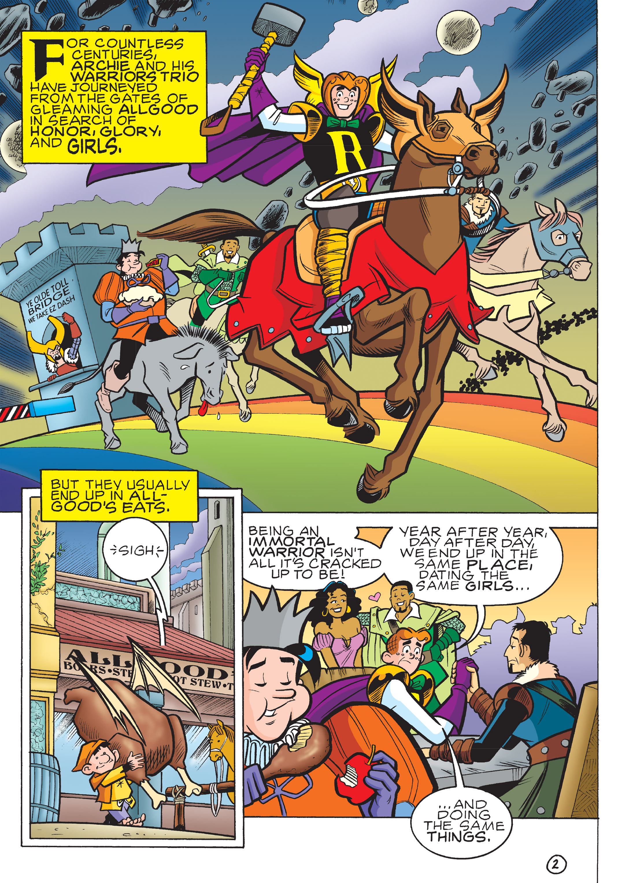 Read online The Best of Archie Comics comic -  Issue # TPB 4 (Part 2) - 186