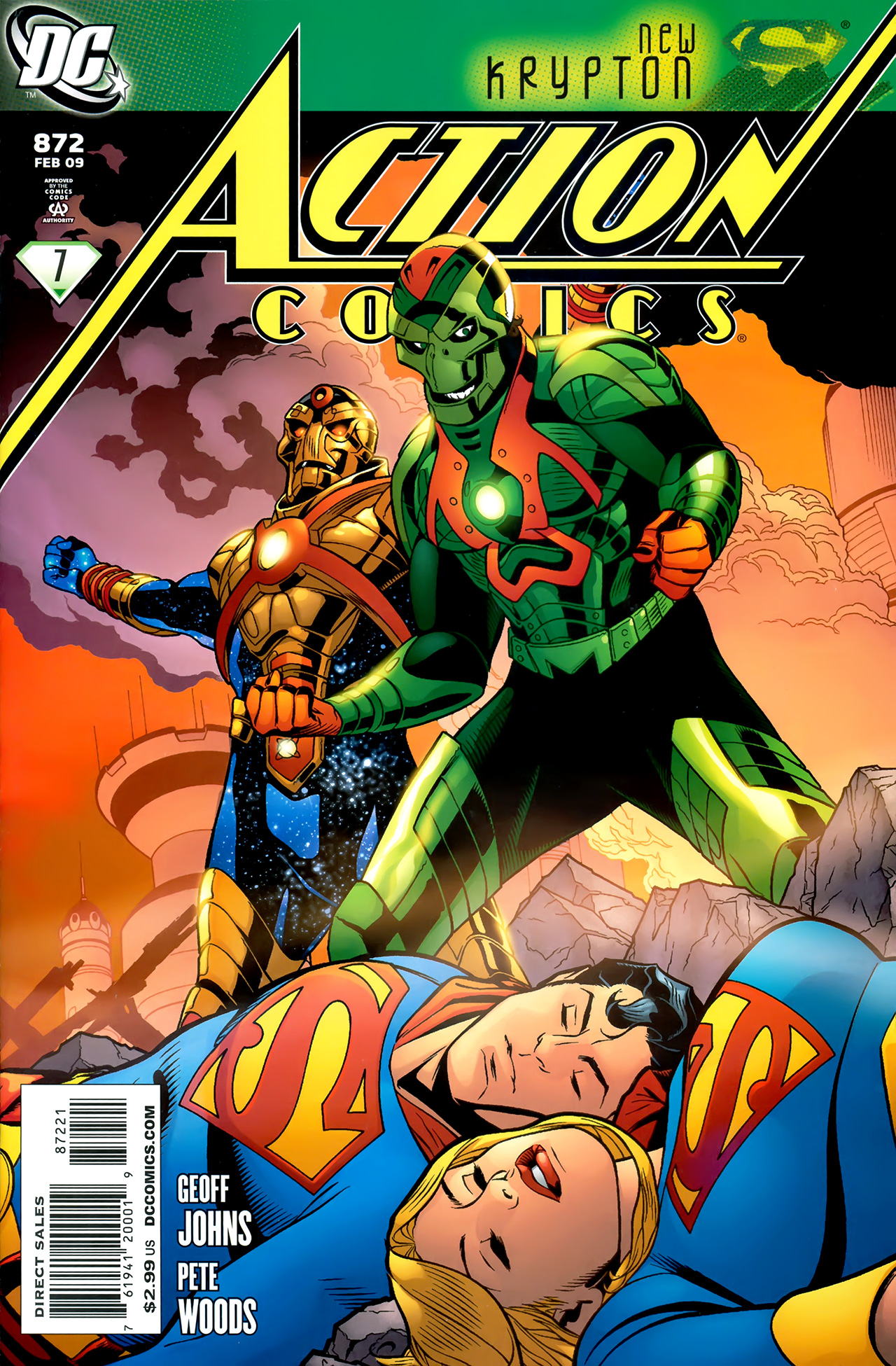 Read online Action Comics (1938) comic -  Issue #872 - 1