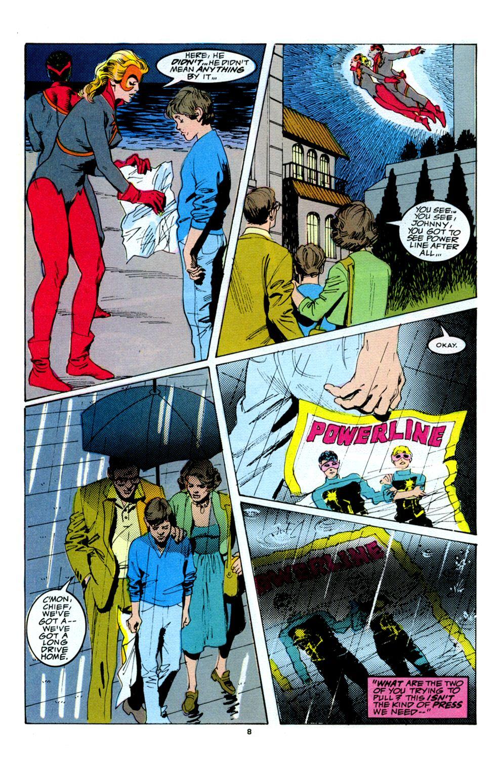 Read online Powerline comic -  Issue #5 - 10