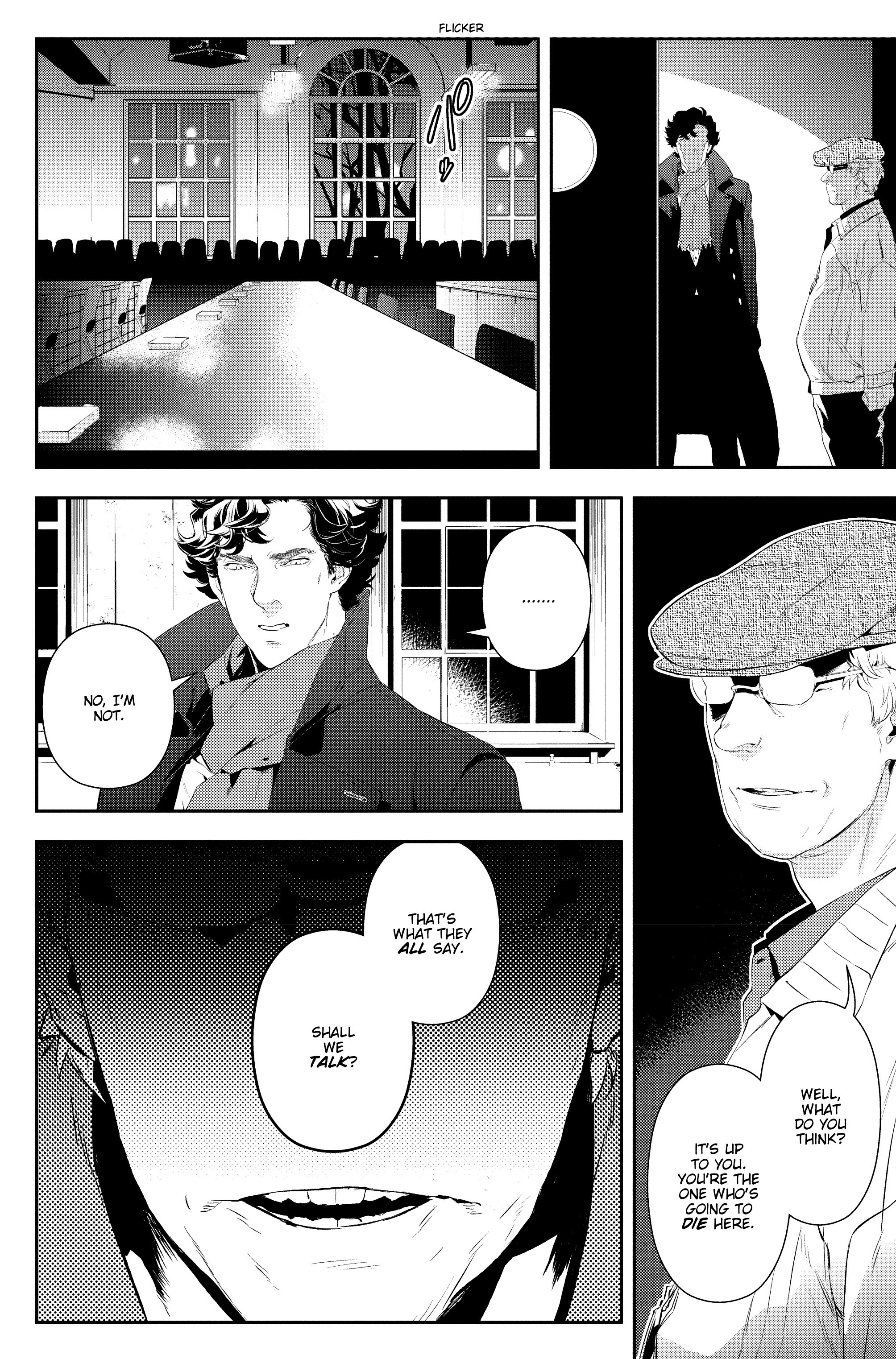 Read online Sherlock: A Study In Pink comic -  Issue #5 - 32