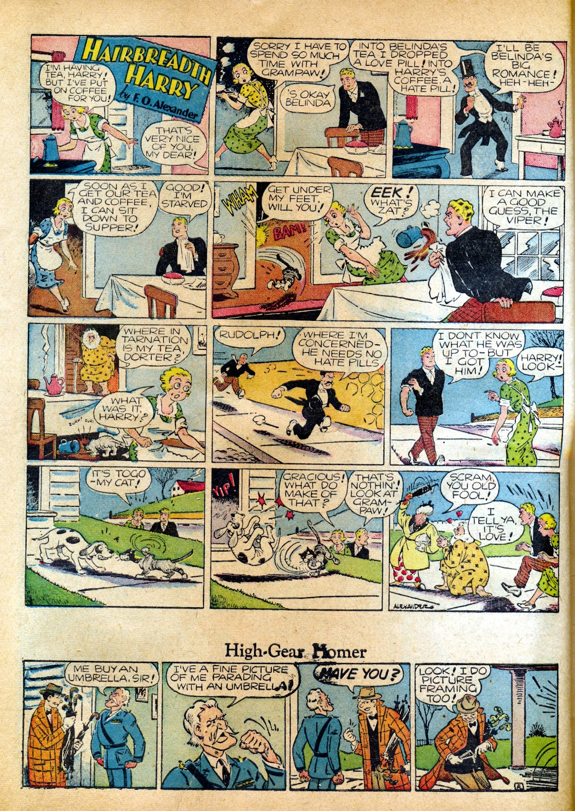 Read online Famous Funnies comic -  Issue #82 - 16
