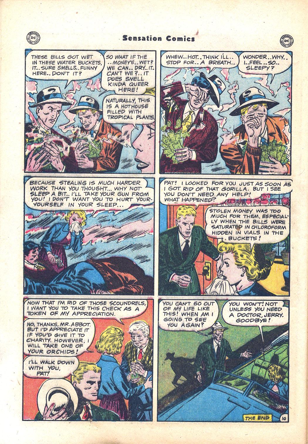 Read online Sensation (Mystery) Comics comic -  Issue #94 - 48