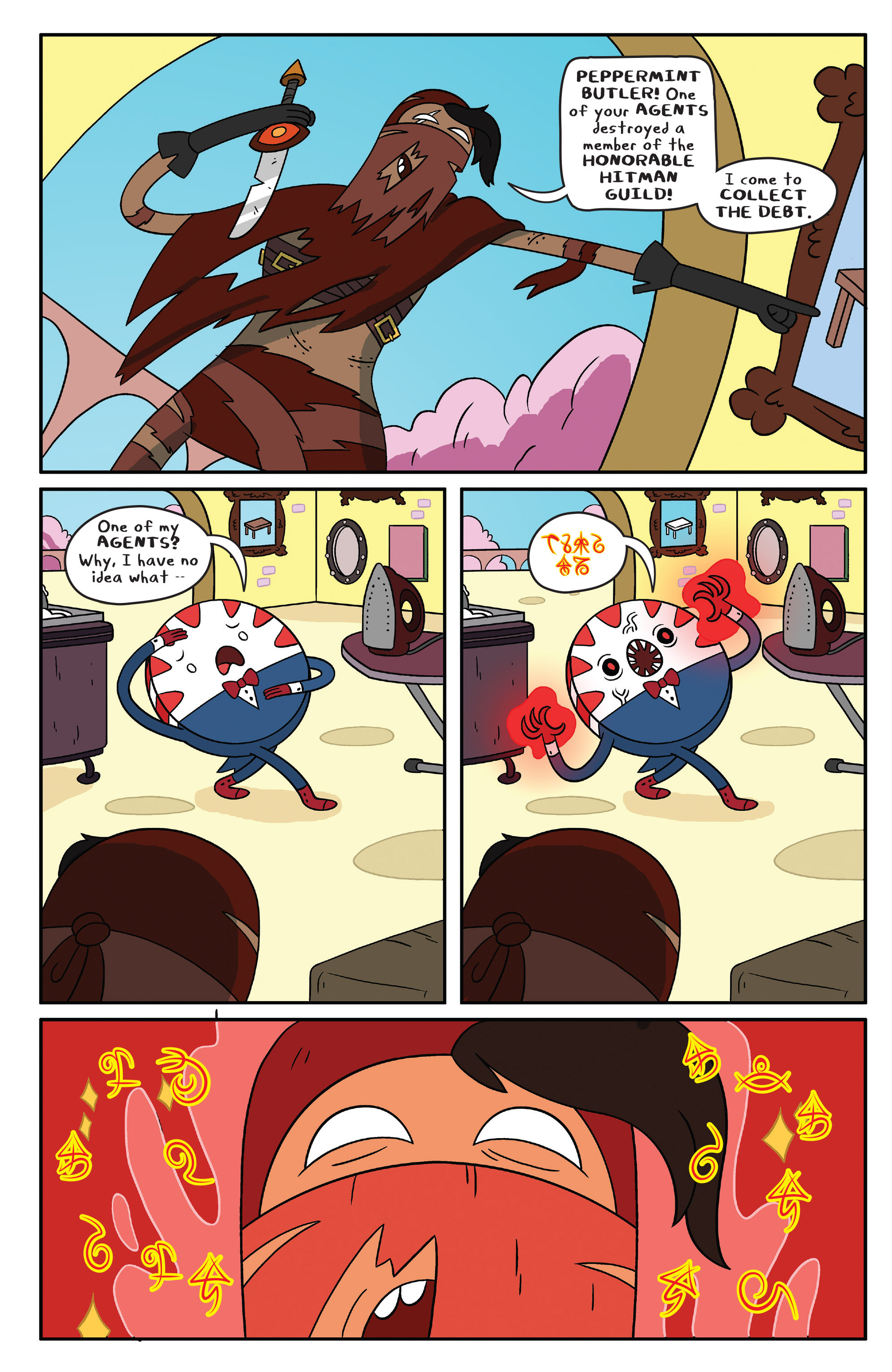 Read online Adventure Time comic -  Issue #41 - 4