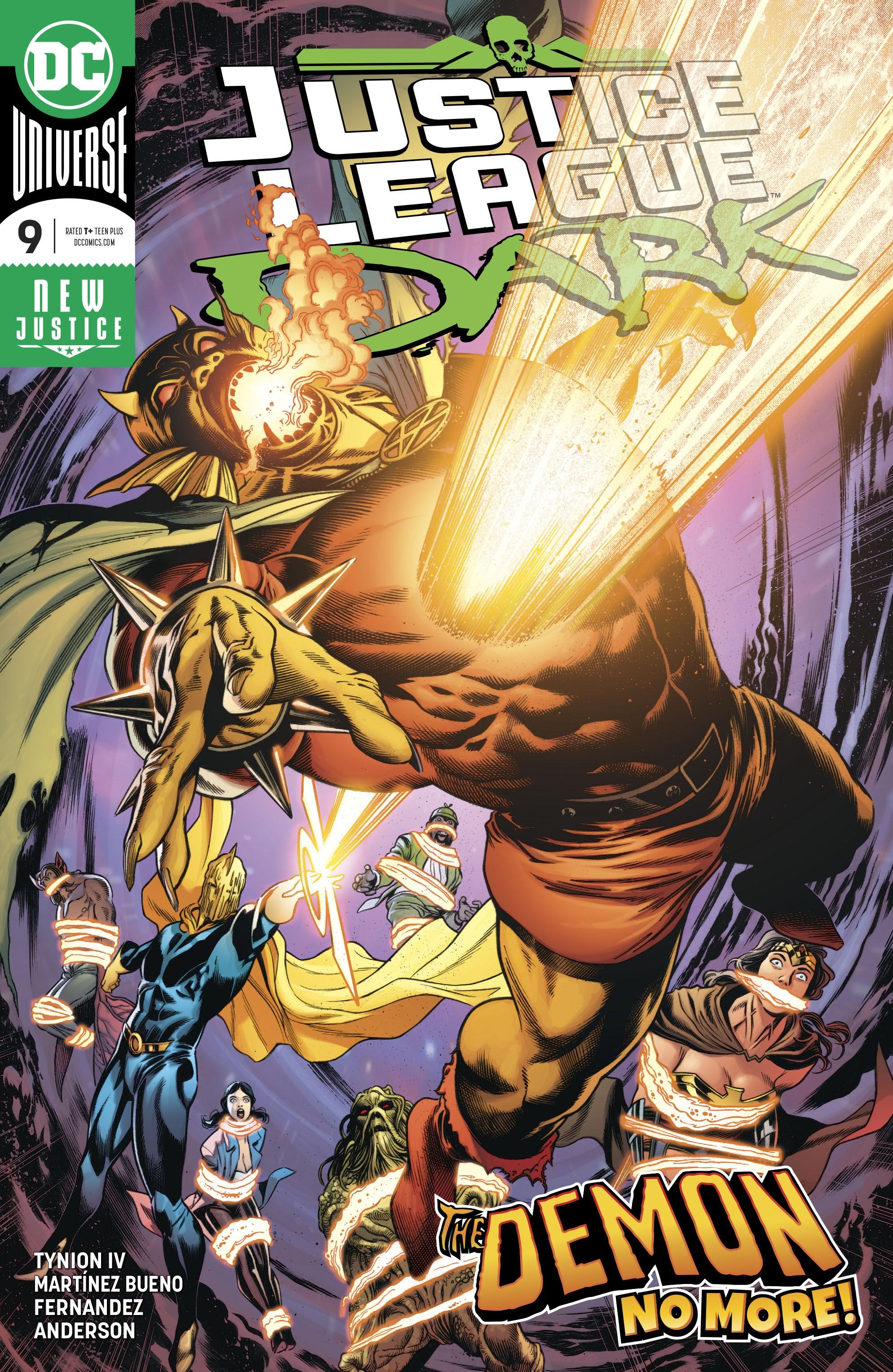 Justice League Dark (2018) 9 Page 1