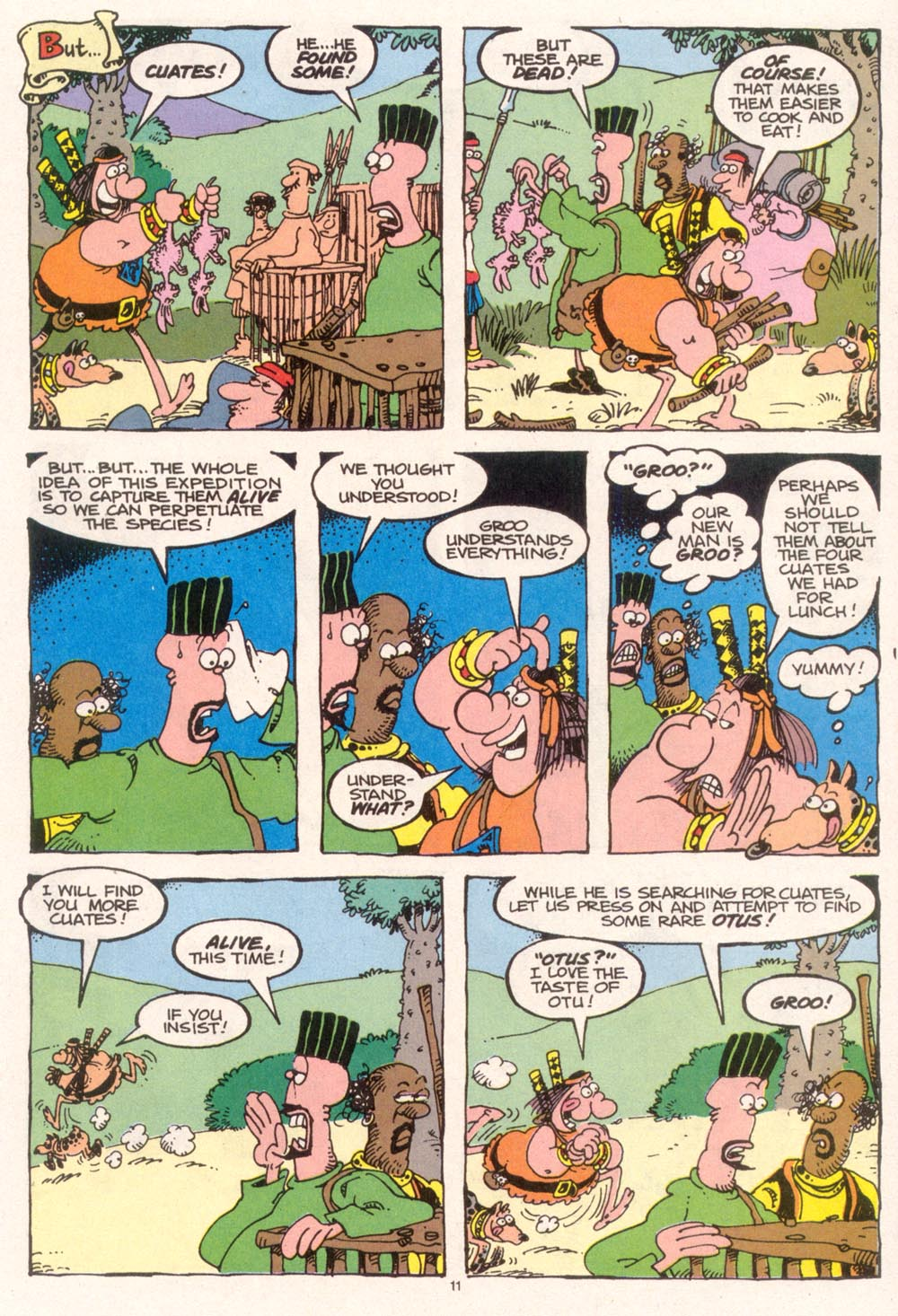 Read online Sergio Aragonés Groo the Wanderer comic -  Issue #95 - 12
