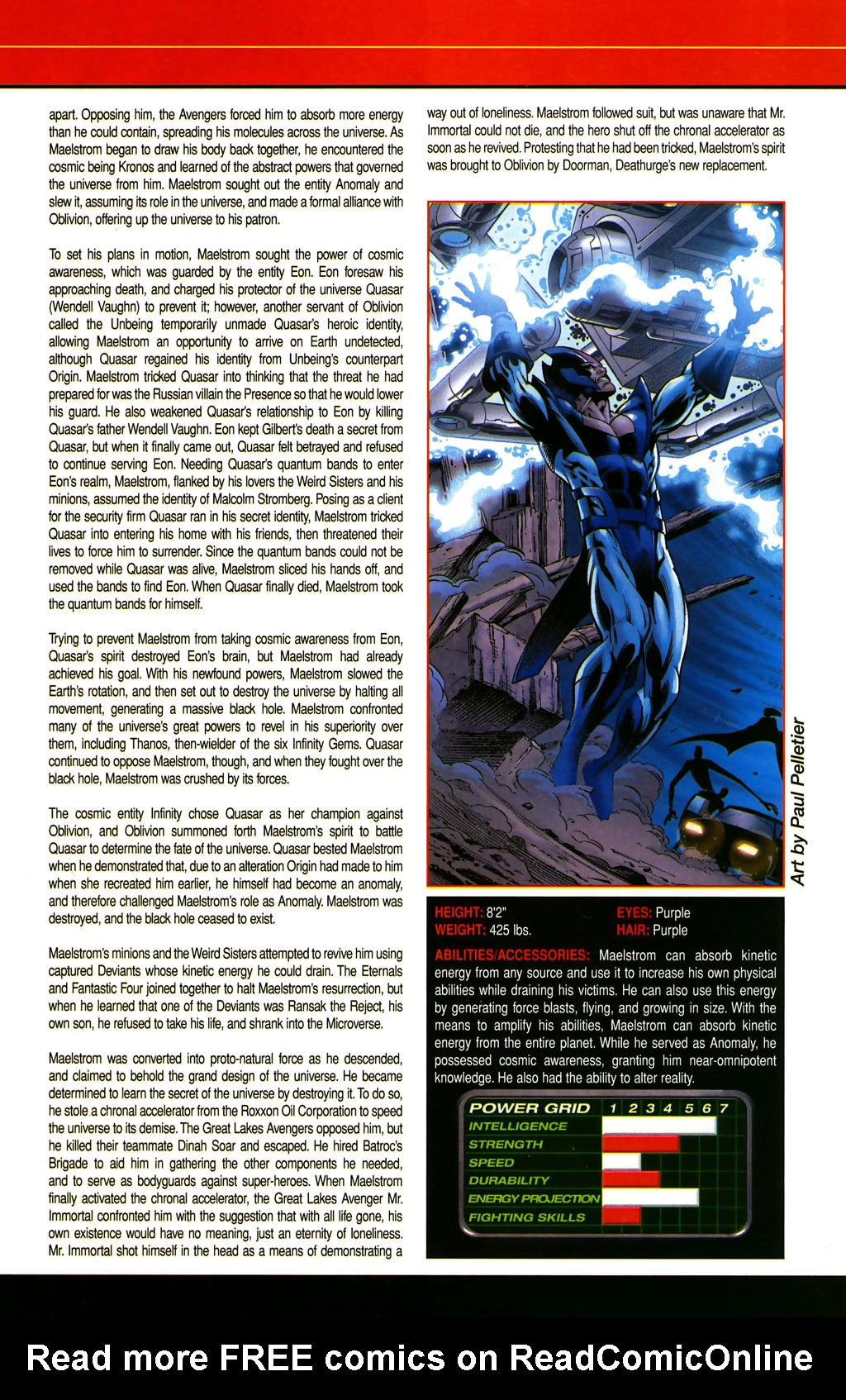 Read online All-New Official Handbook of the Marvel Universe A to Z comic -  Issue #6 - 57