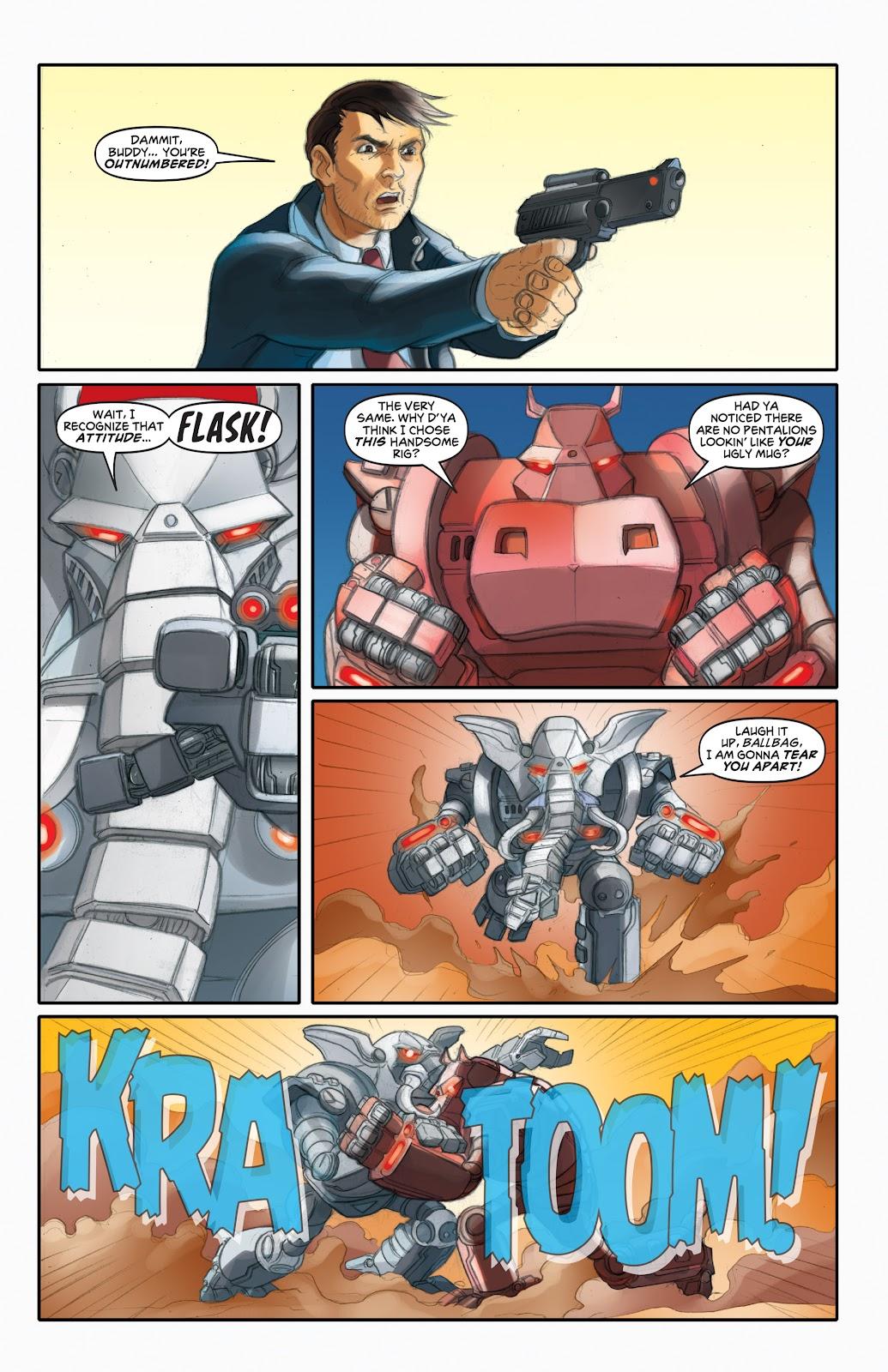 Read online Elephantmen 2261 Season Two: The Pentalion Job comic -  Issue # TPB - 58