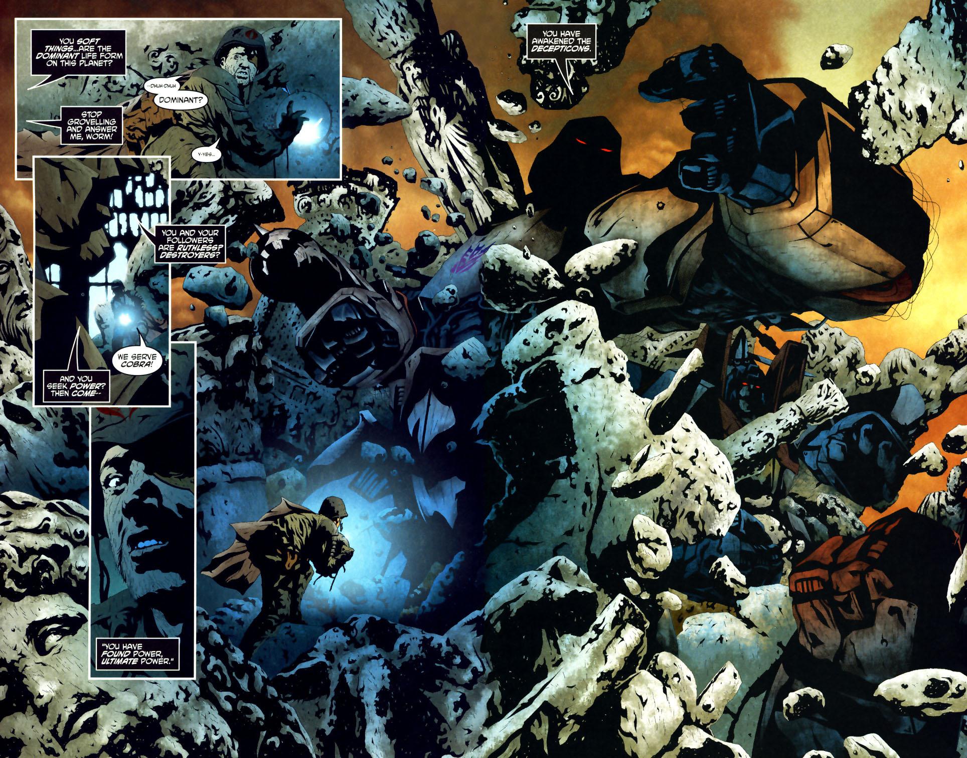 Read online Transformers/G.I. Joe comic -  Issue #1 - 6