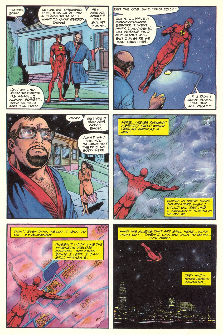 Read online Solar, Man of the Atom comic -  Issue #8 - 13