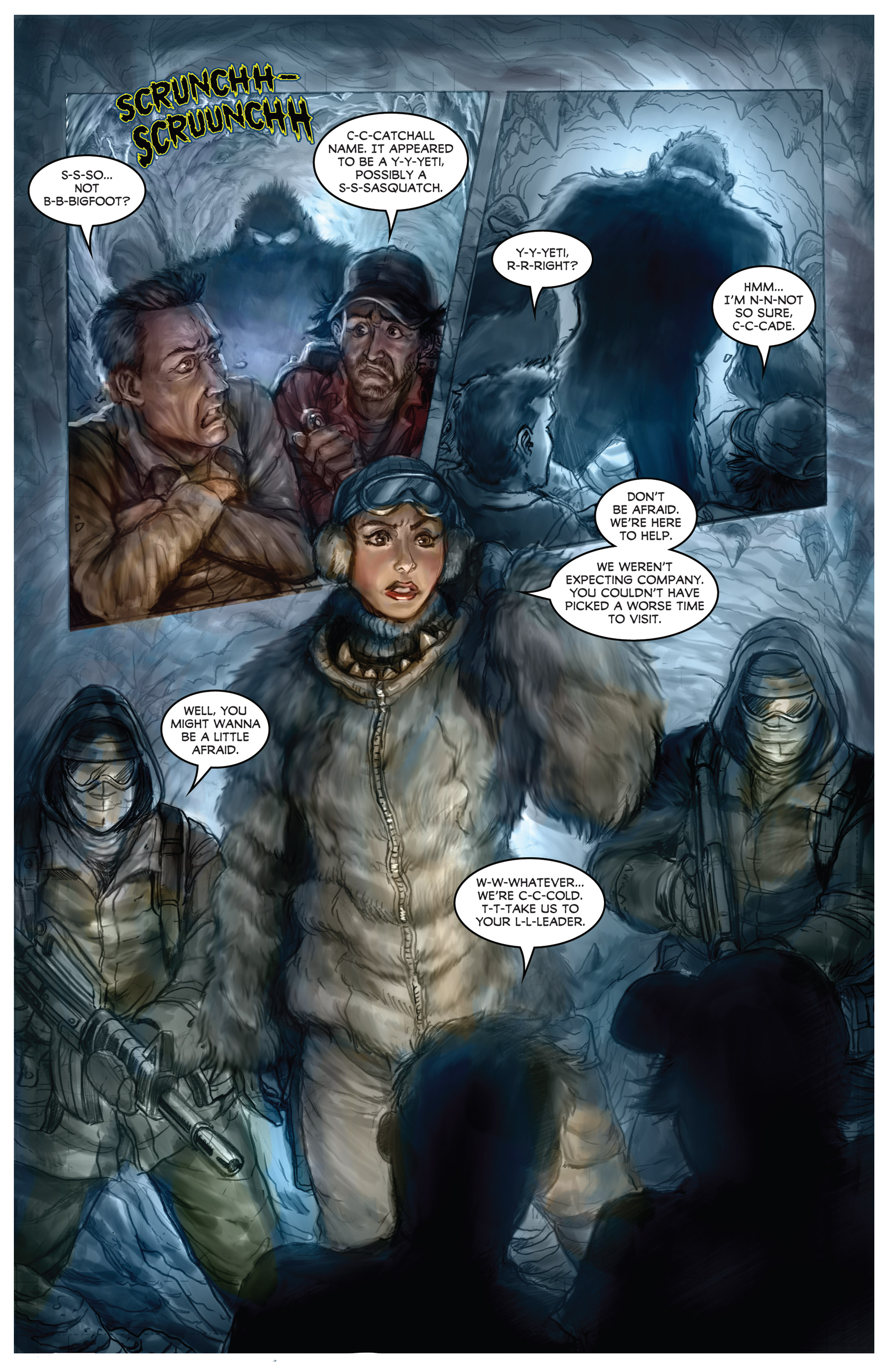 Read online American Mythology Dark: Werewolves vs Dinosaurs comic -  Issue #2 - 6
