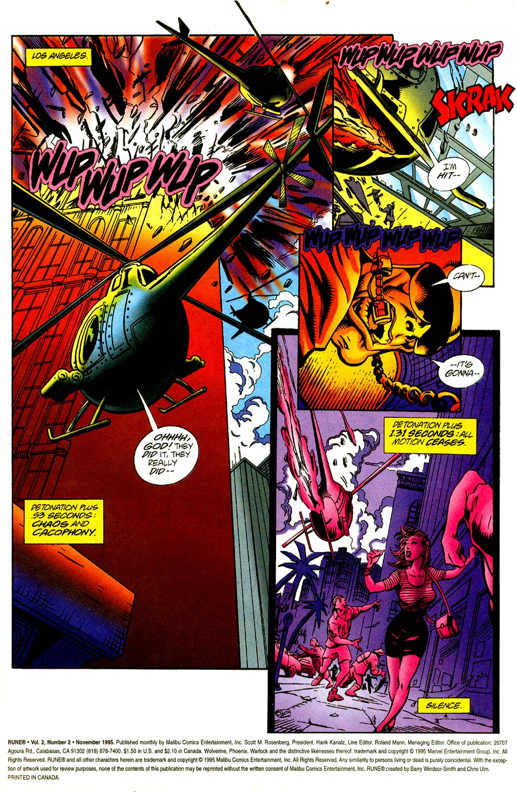 Read online Rune (1995) comic -  Issue #2 - 2