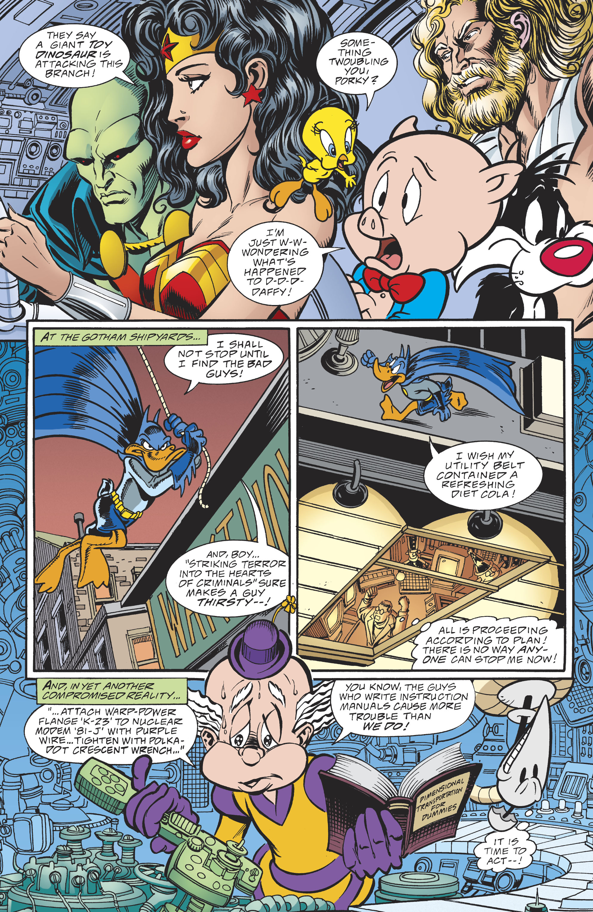 Read online DC/Looney Tunes 100-Page Super Spectacular comic -  Issue # Full - 70