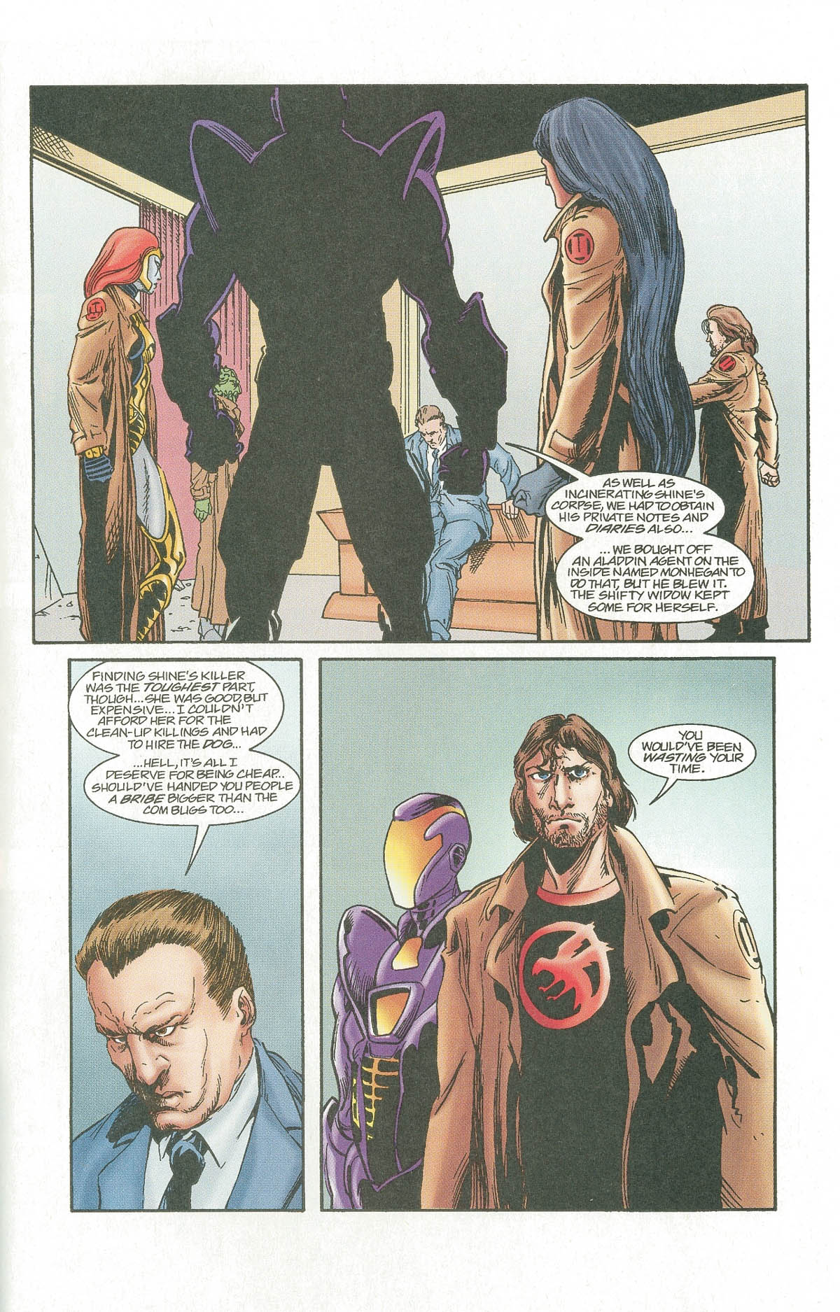 Read online UltraForce (1995) comic -  Issue #7 - 29