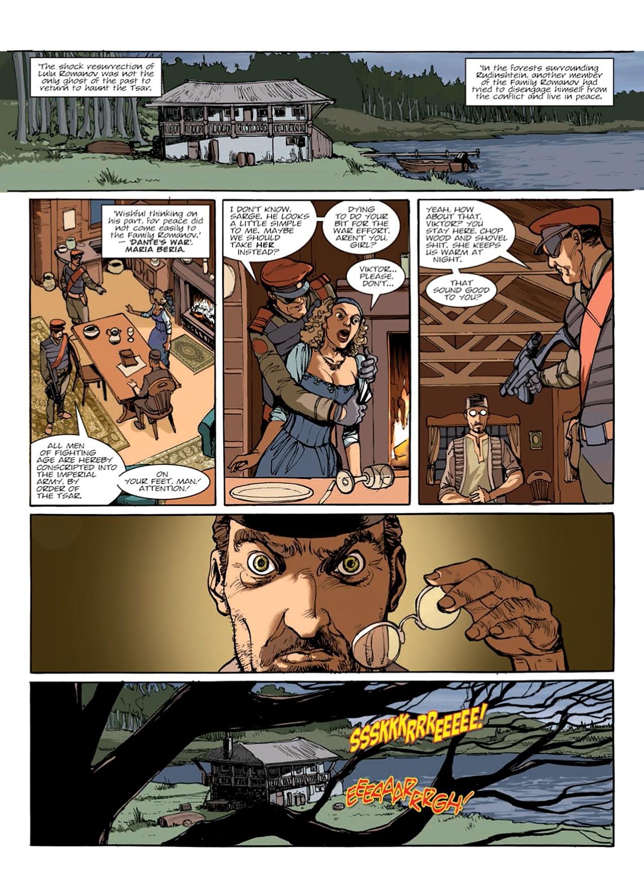 Read online Nikolai Dante comic -  Issue # TPB 9 - 130