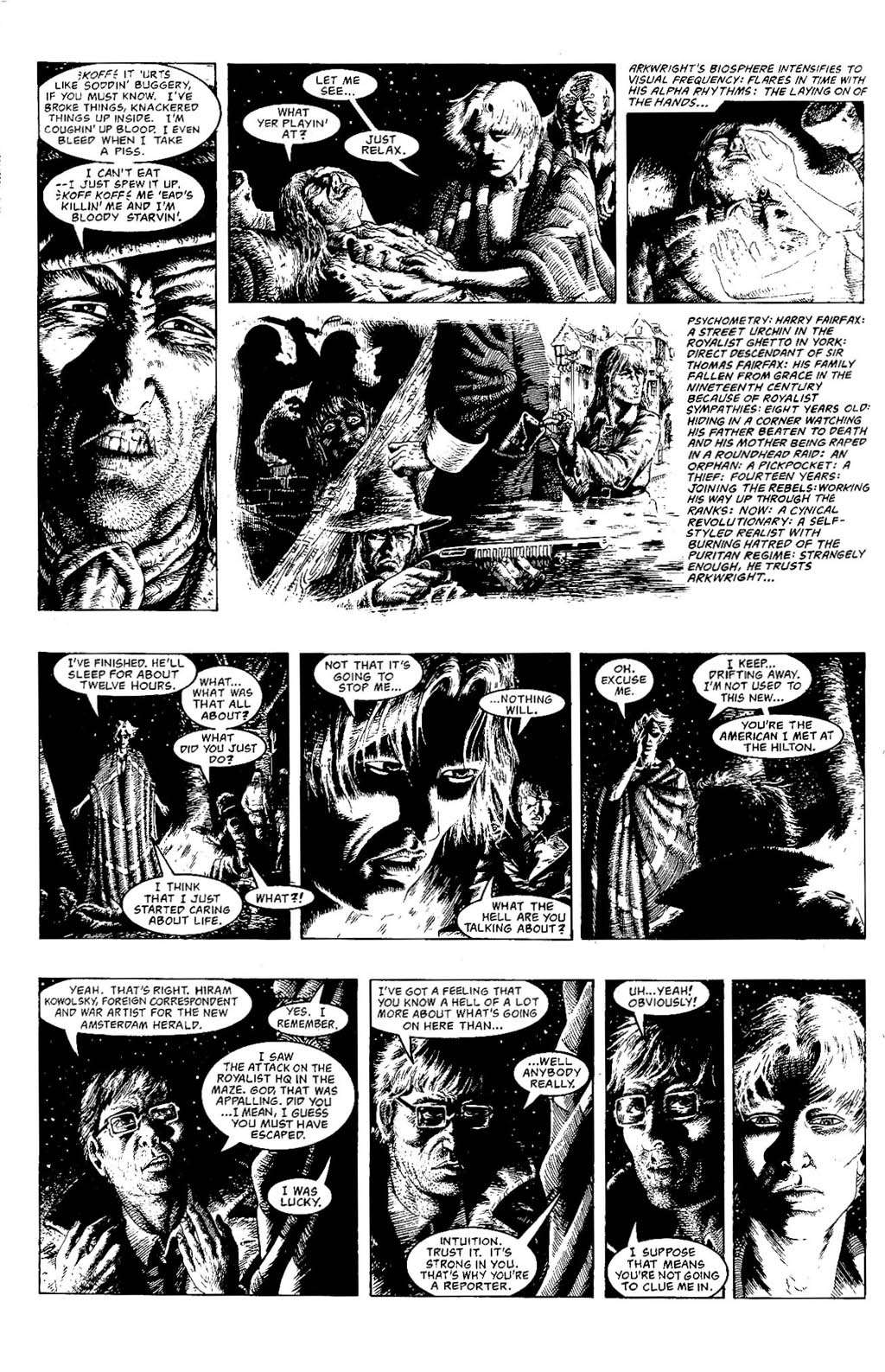 Read online The Adventures of Luther Arkwright comic -  Issue #7 - 10