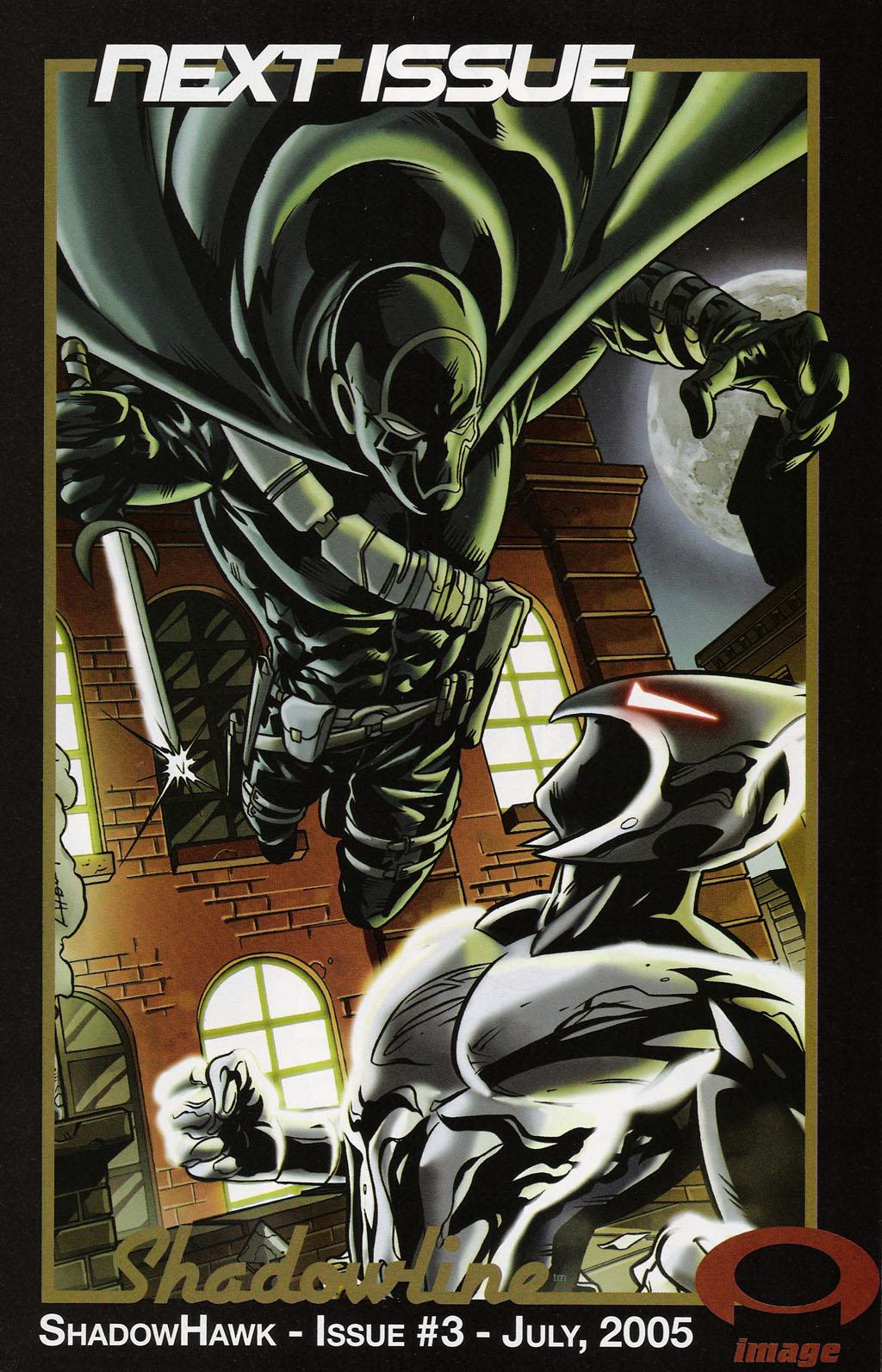 Read online ShadowHawk (2005) comic -  Issue #2 - 25
