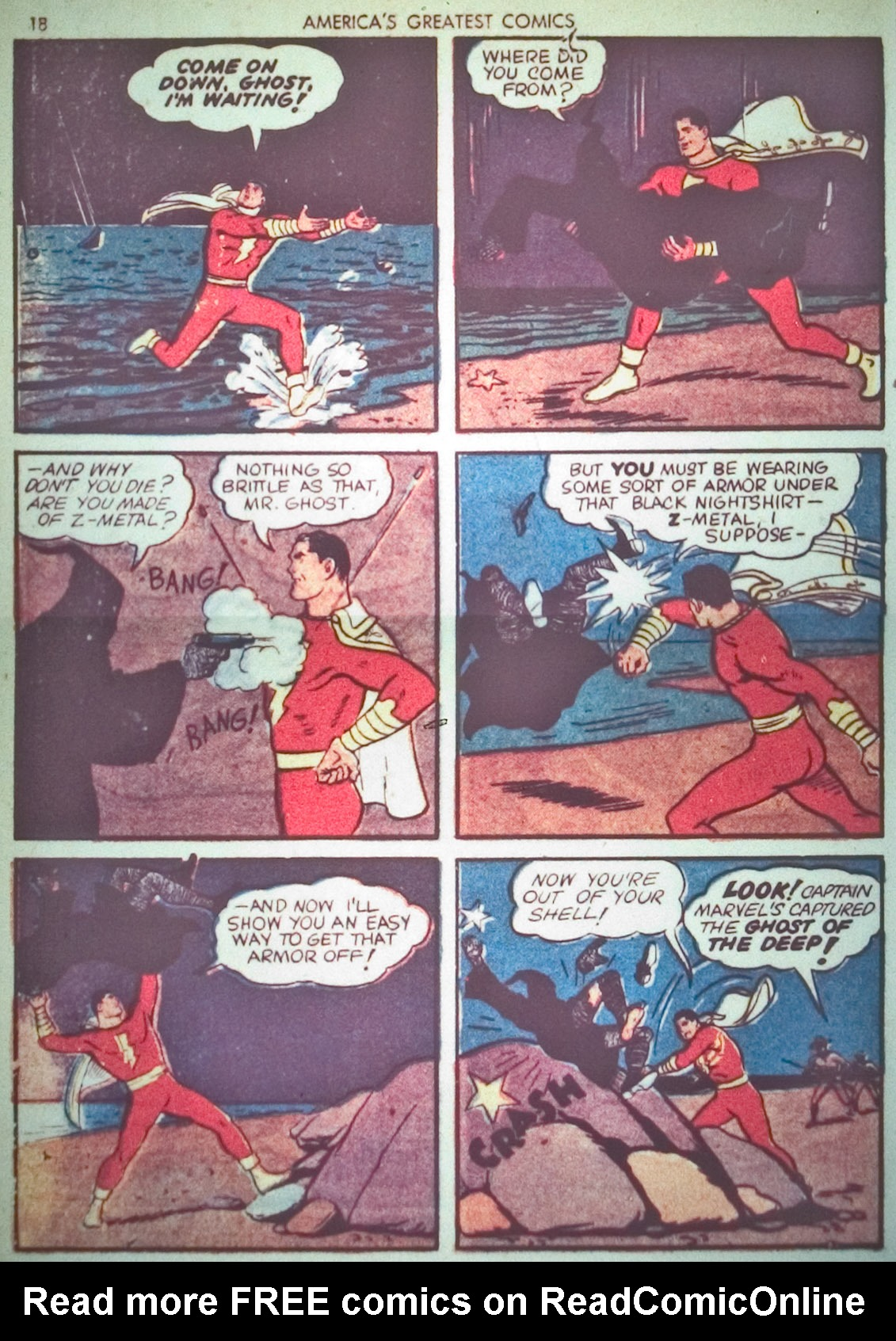 Read online America's Greatest Comics comic -  Issue #1 - 21