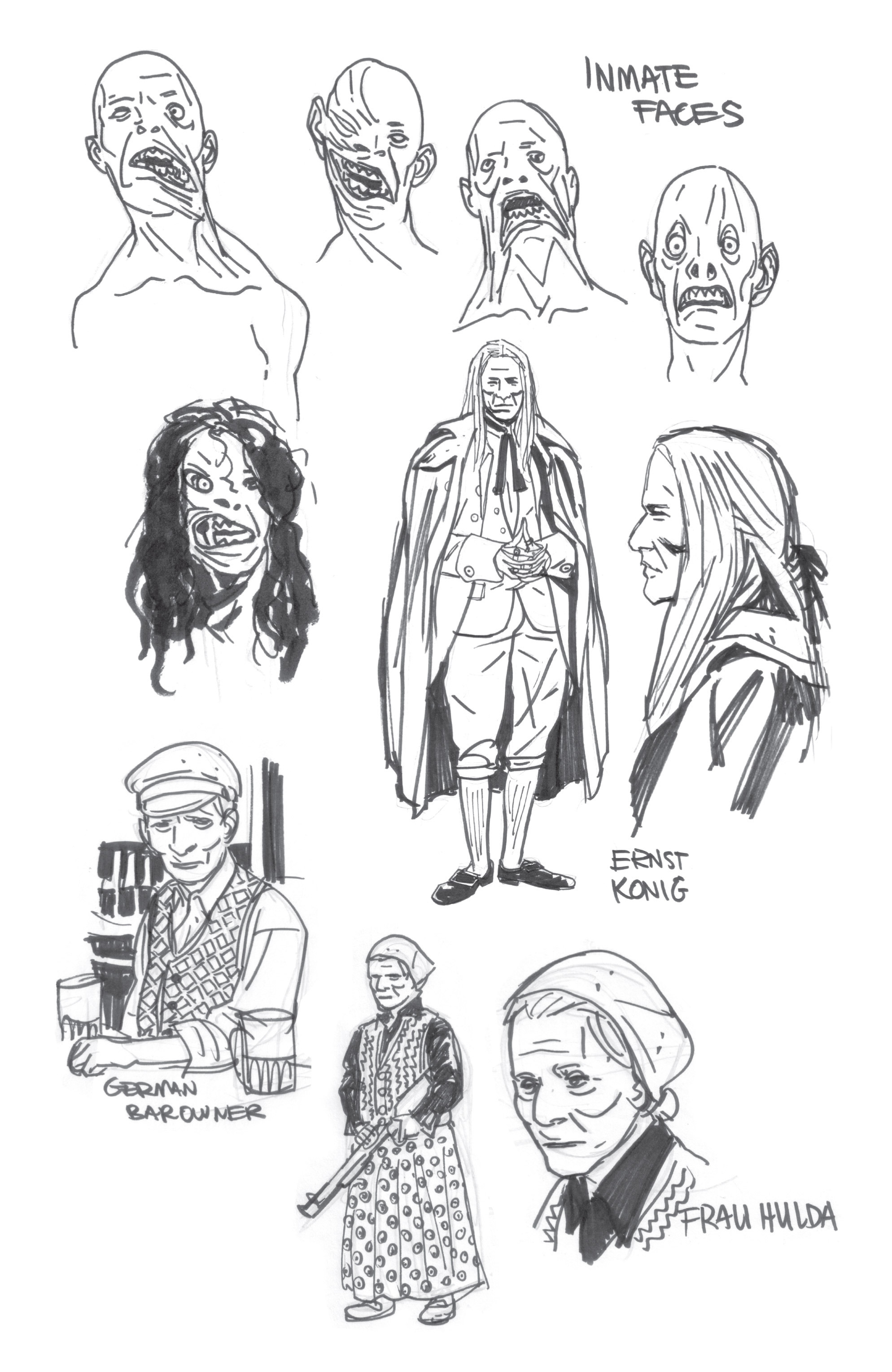 Read online B.P.R.D. (2003) comic -  Issue # TPB 9 - 148