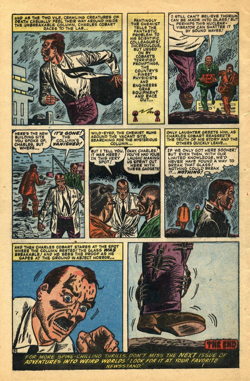 Read online Adventures into Weird Worlds comic -  Issue #29 - 32