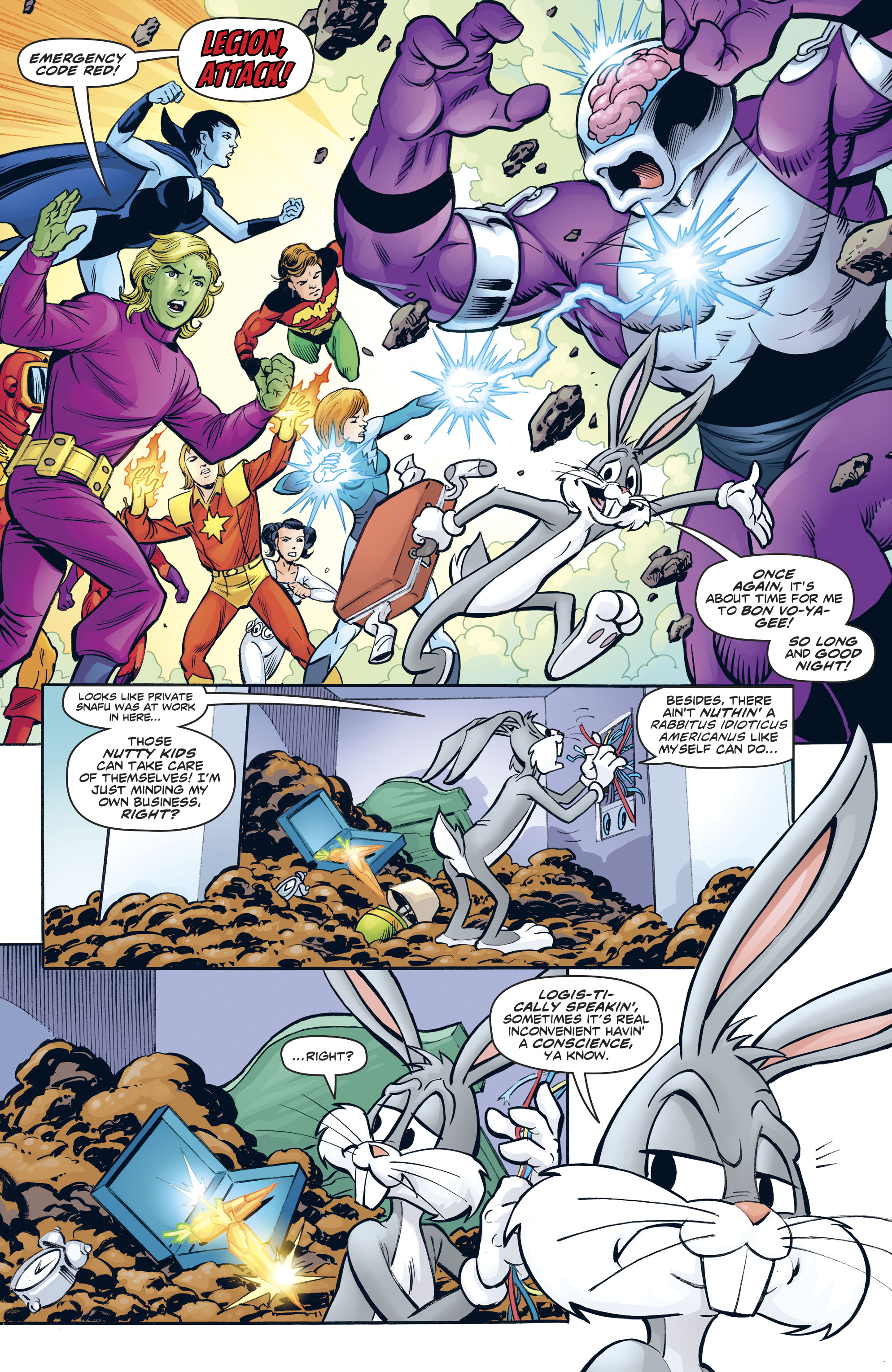 Read online Legion of Super-Heroes/Bugs Bunny Special comic -  Issue # Full - 22