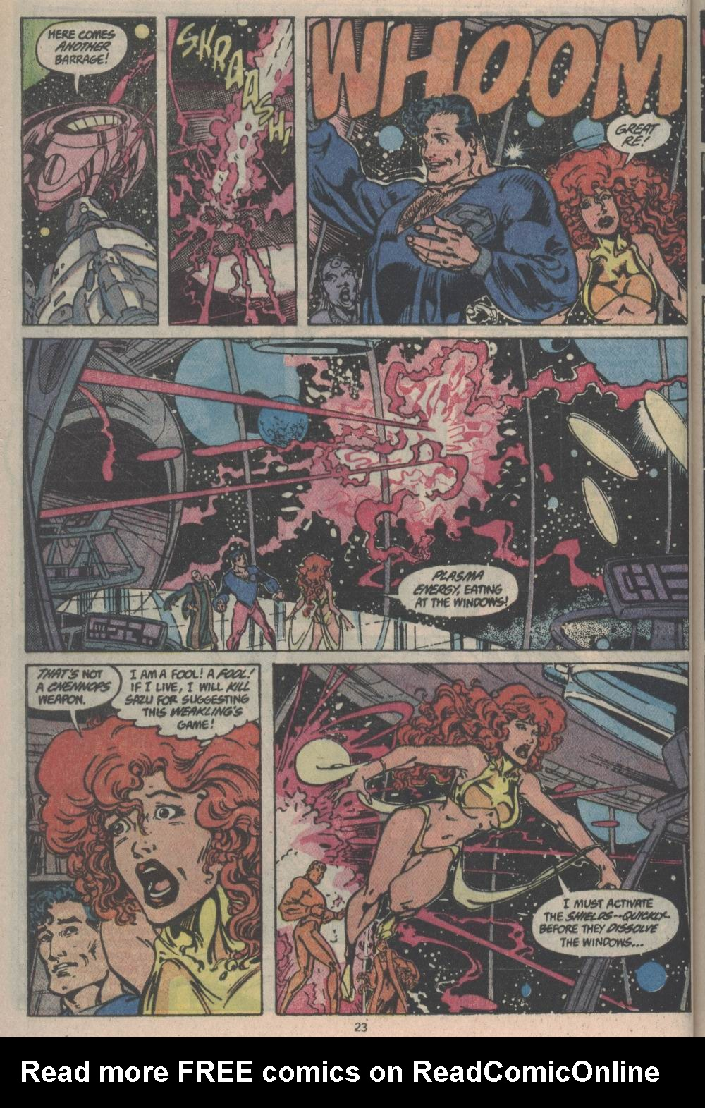 Adventures of Superman (1987) issue _Annual_3 - Page 23