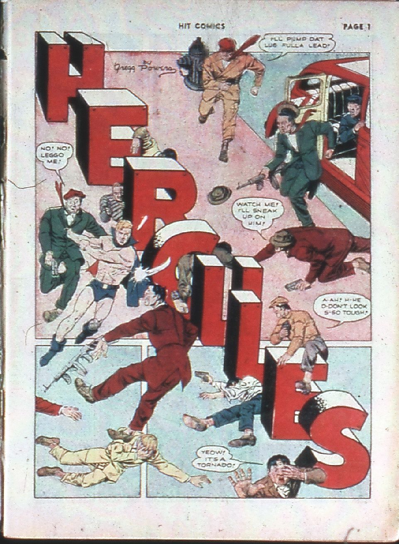 Read online Hit Comics comic -  Issue #10 - 3