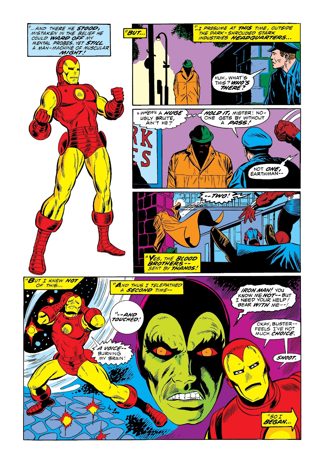 Read online Marvel Masterworks: The Invincible Iron Man comic -  Issue # TPB 9 (Part 1) - 35