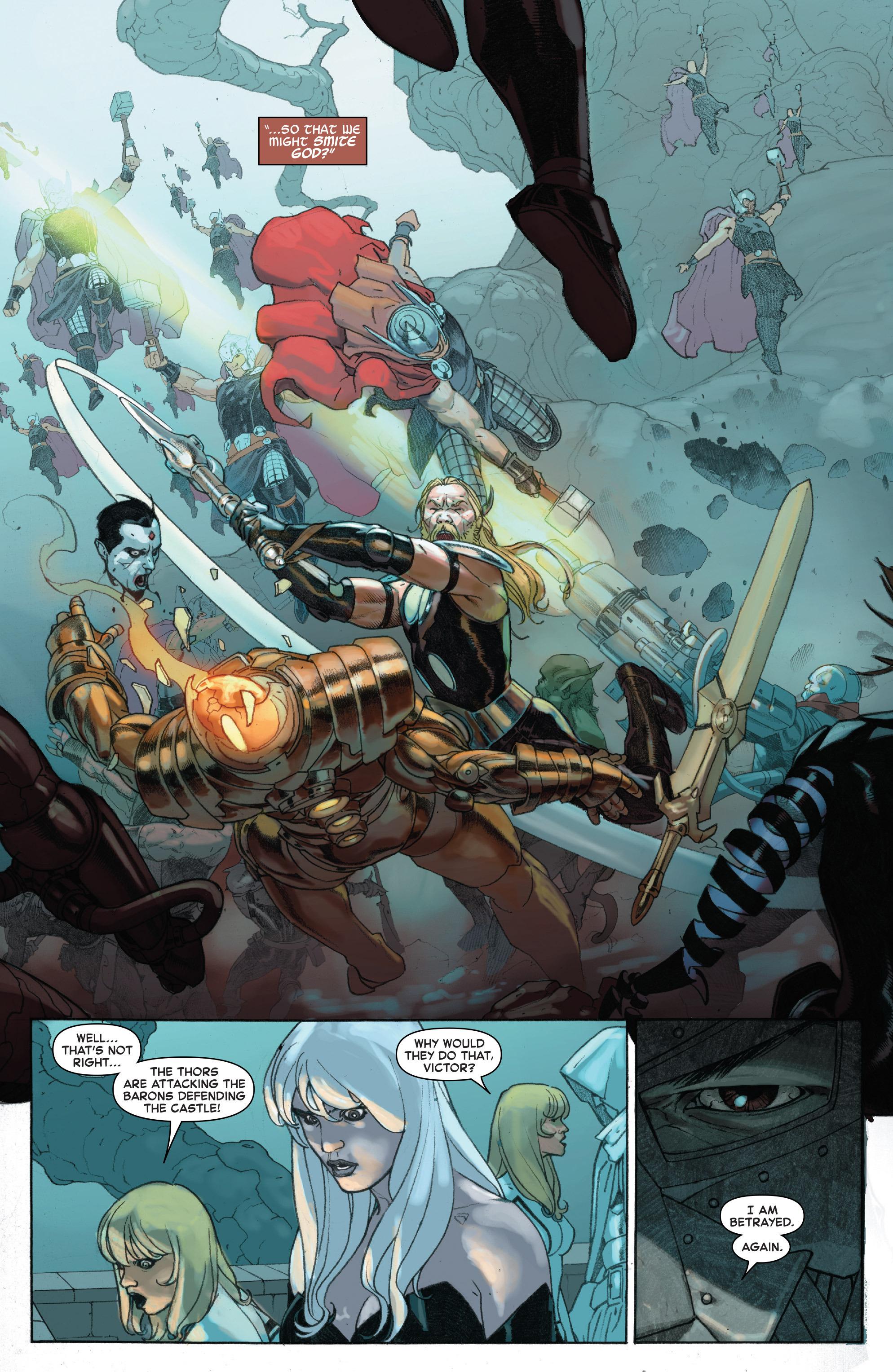 Read online Secret Wars comic -  Issue #7 - 14