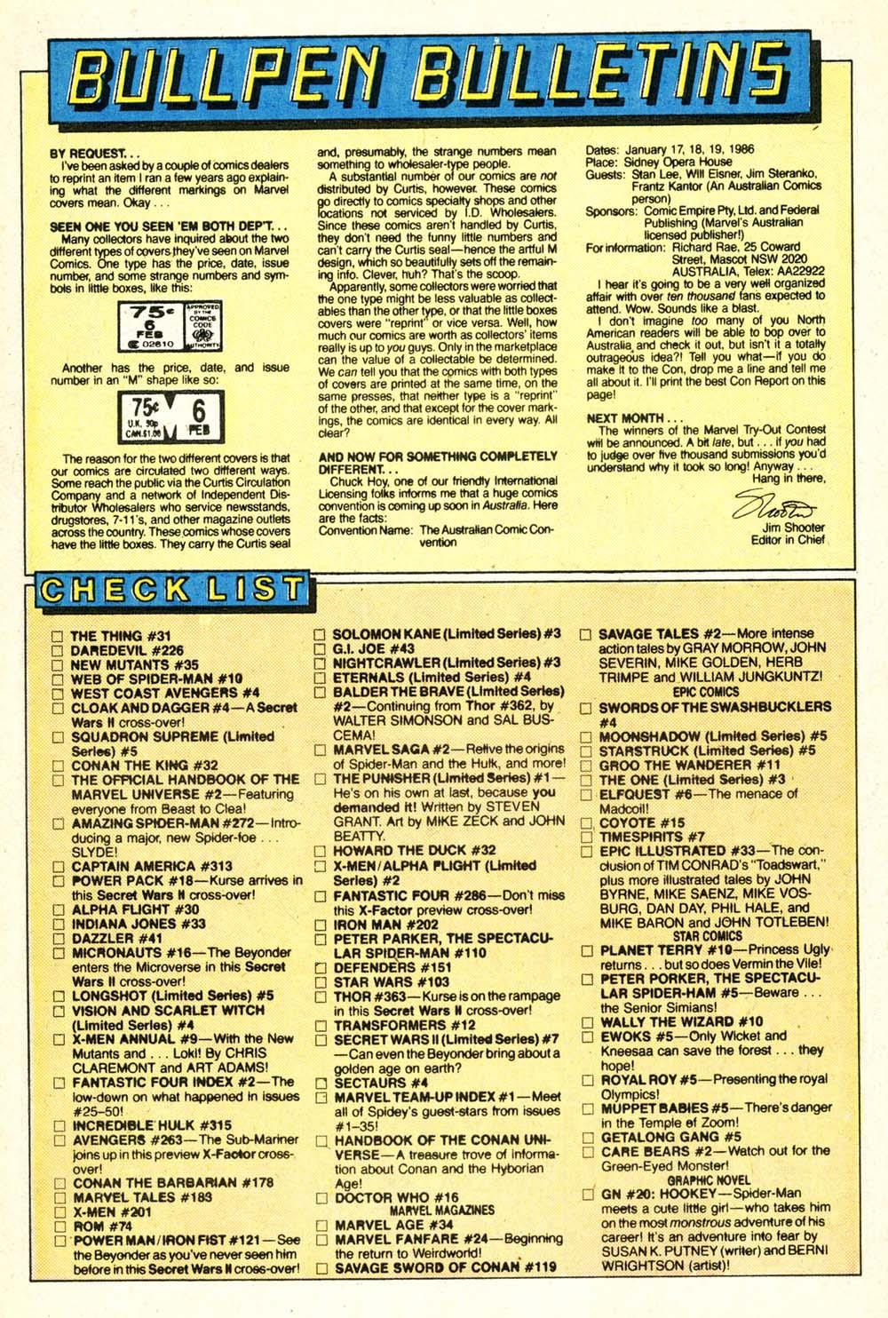 Read online Alpha Flight (1983) comic -  Issue #30 - 20