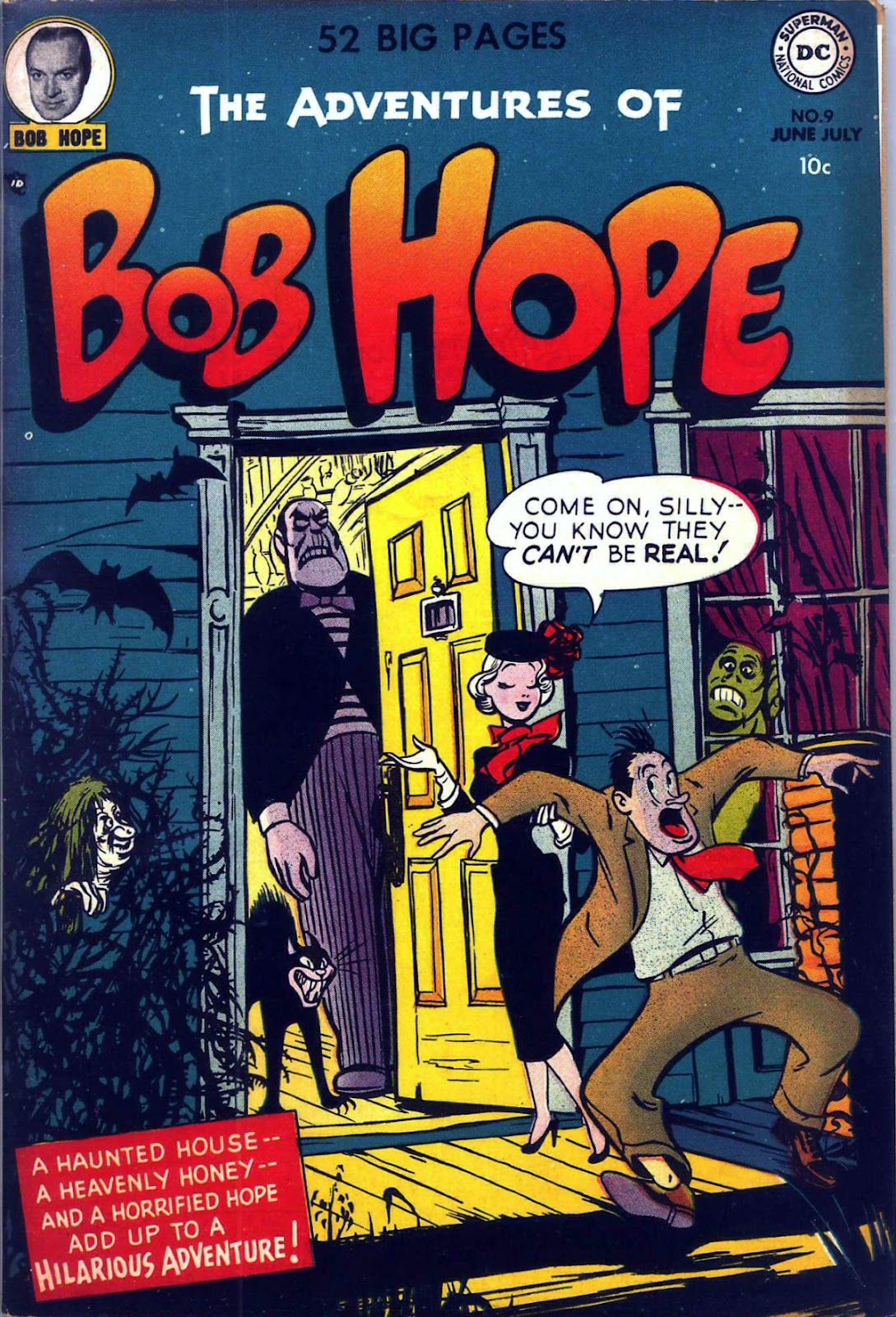 The Adventures of Bob Hope issue 9 - Page 1