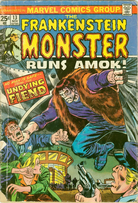 Frankenstein (1973) issue 13 - Page 1