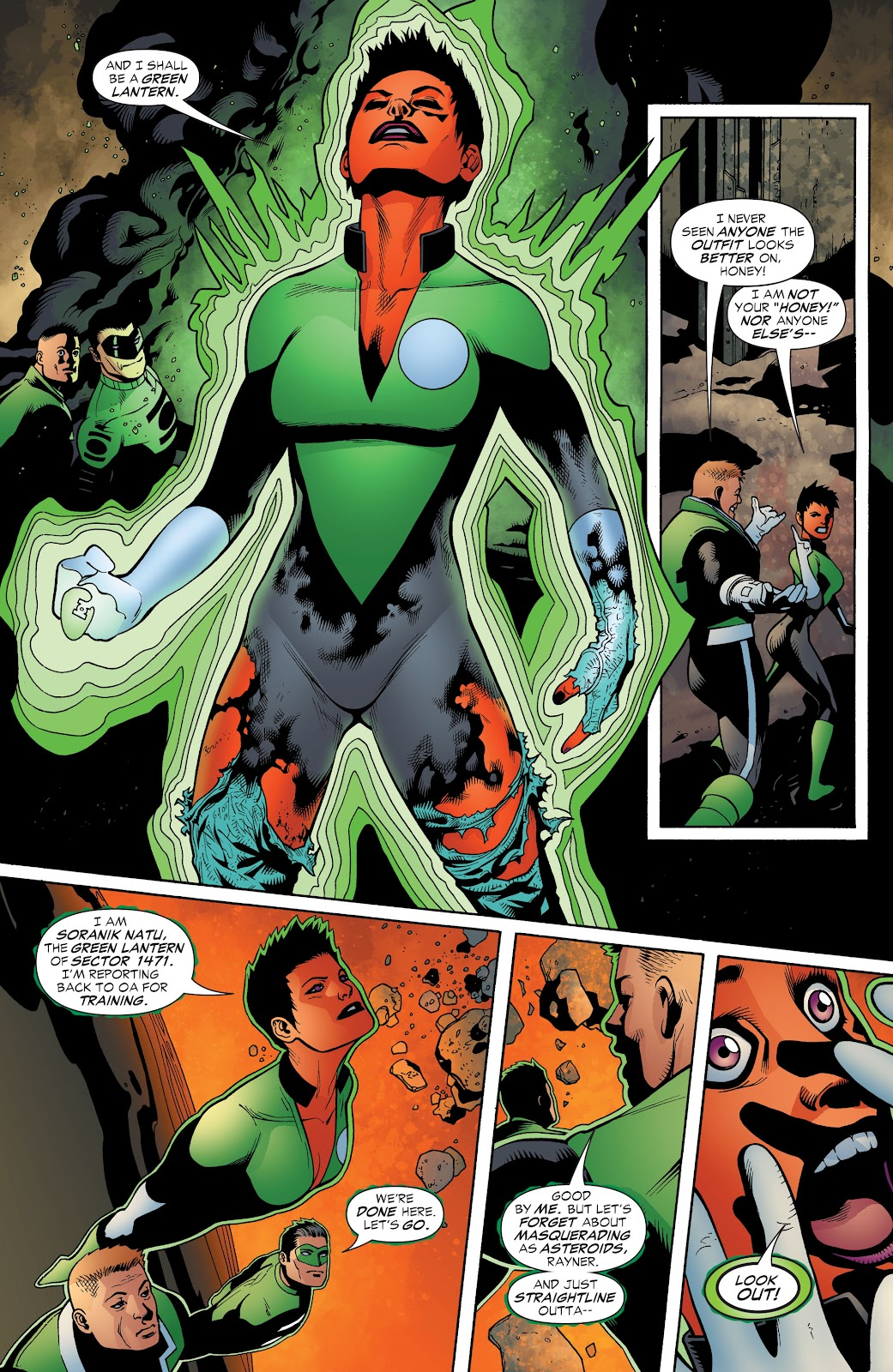 Read online Green Lantern by Geoff Johns comic -  Issue # TPB 1 (Part 3) - 45