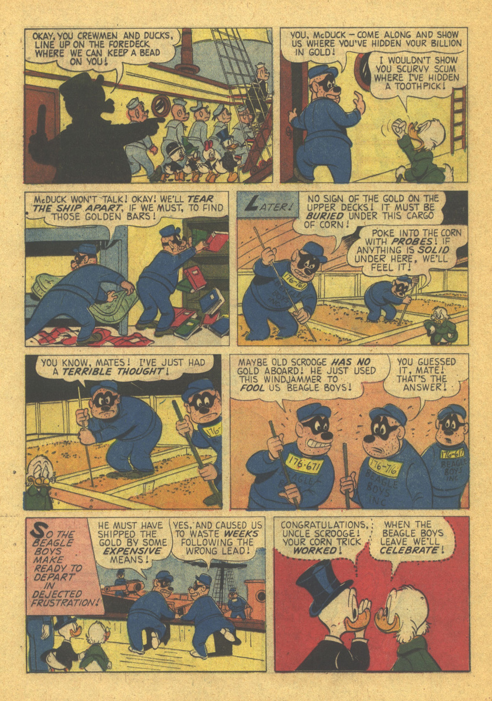 Read online Uncle Scrooge (1953) comic -  Issue #31 - 16