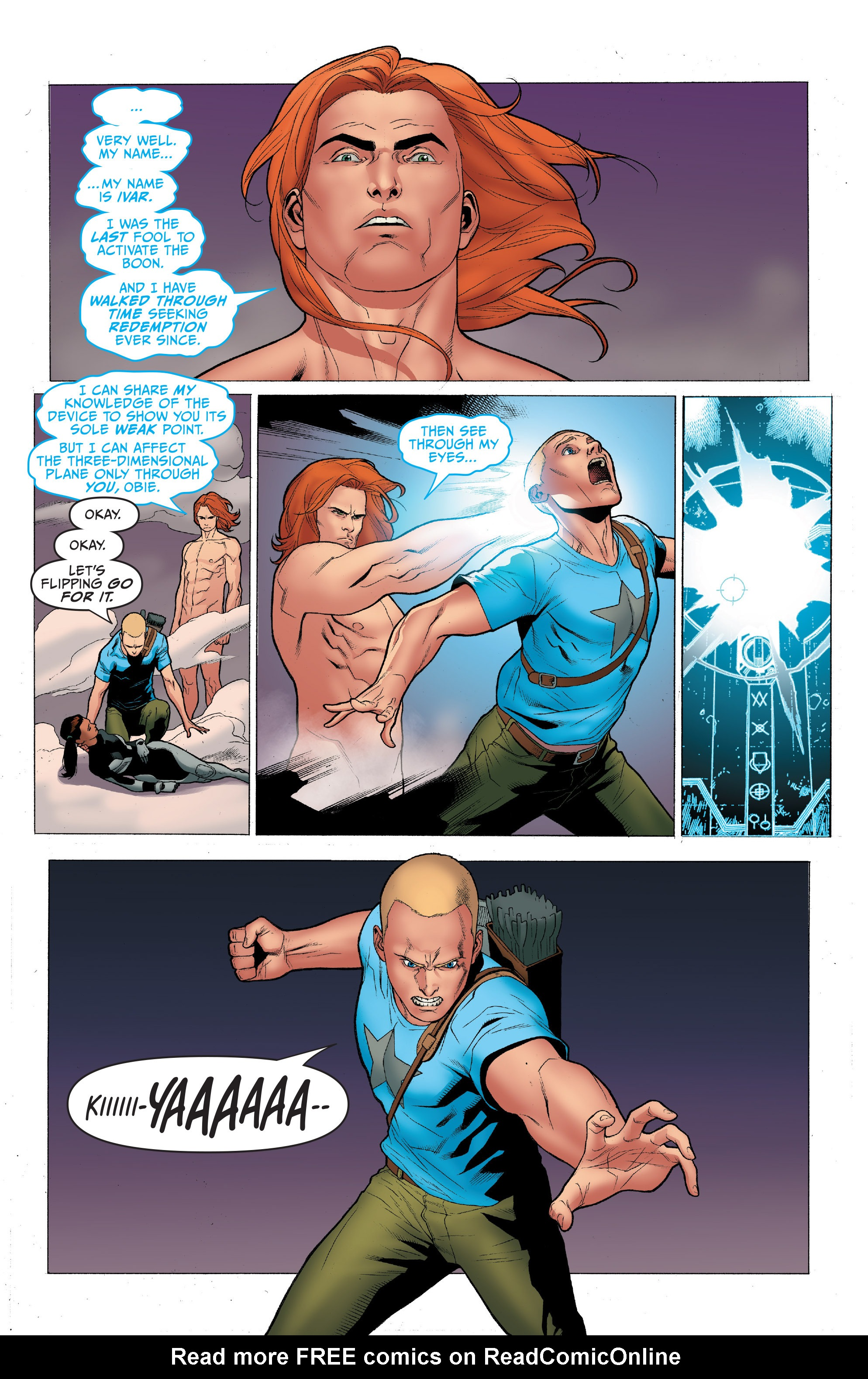 Read online Archer and Armstrong comic -  Issue #Archer and Armstrong _TPB 1 - 94